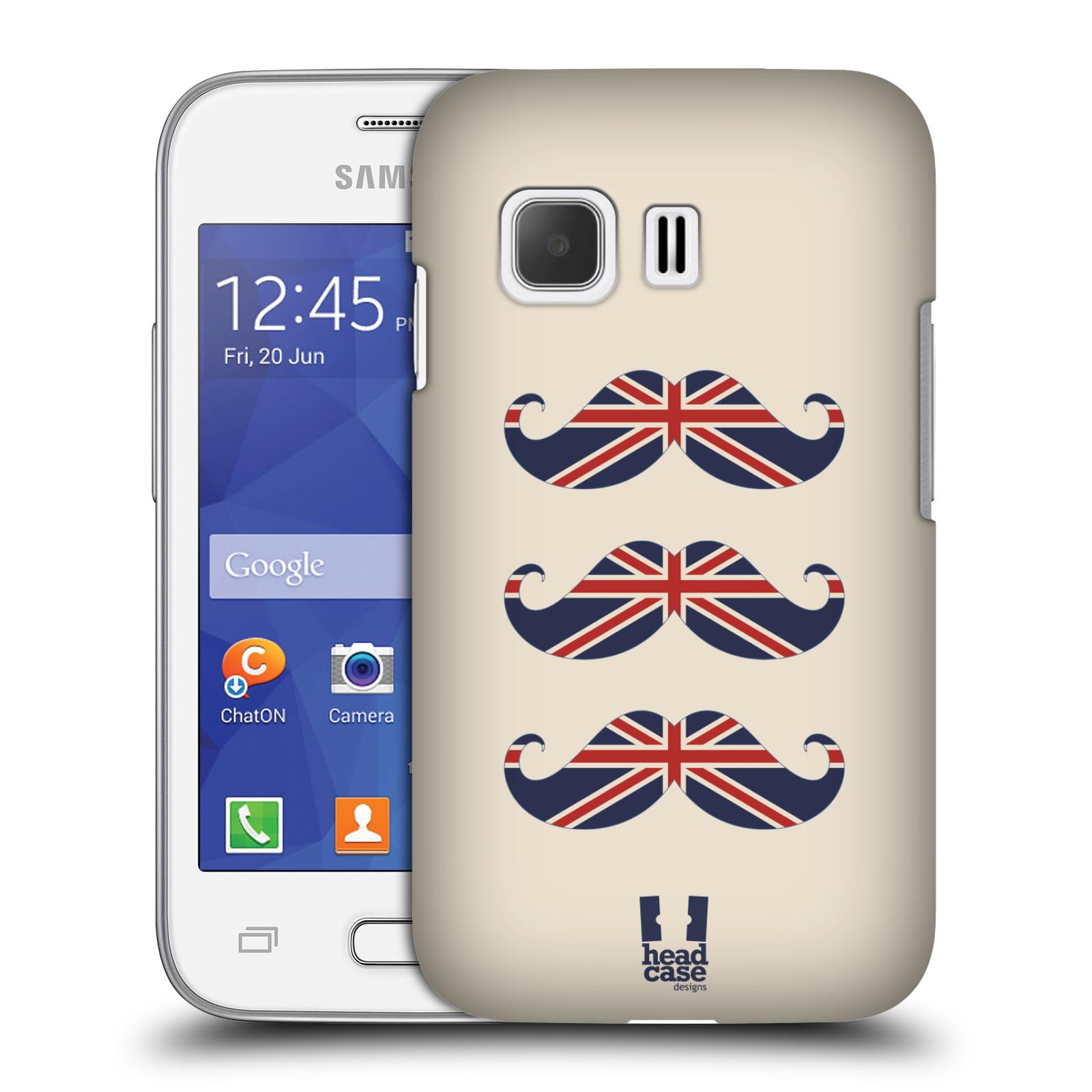 Plastové pouzdro na mobil Samsung Galaxy Young 2 HEAD CASE BRITSKÉ KNÍRY (Plastový kryt či obal na mobilní telefon Samsung Galaxy Young 2 SM-G130)