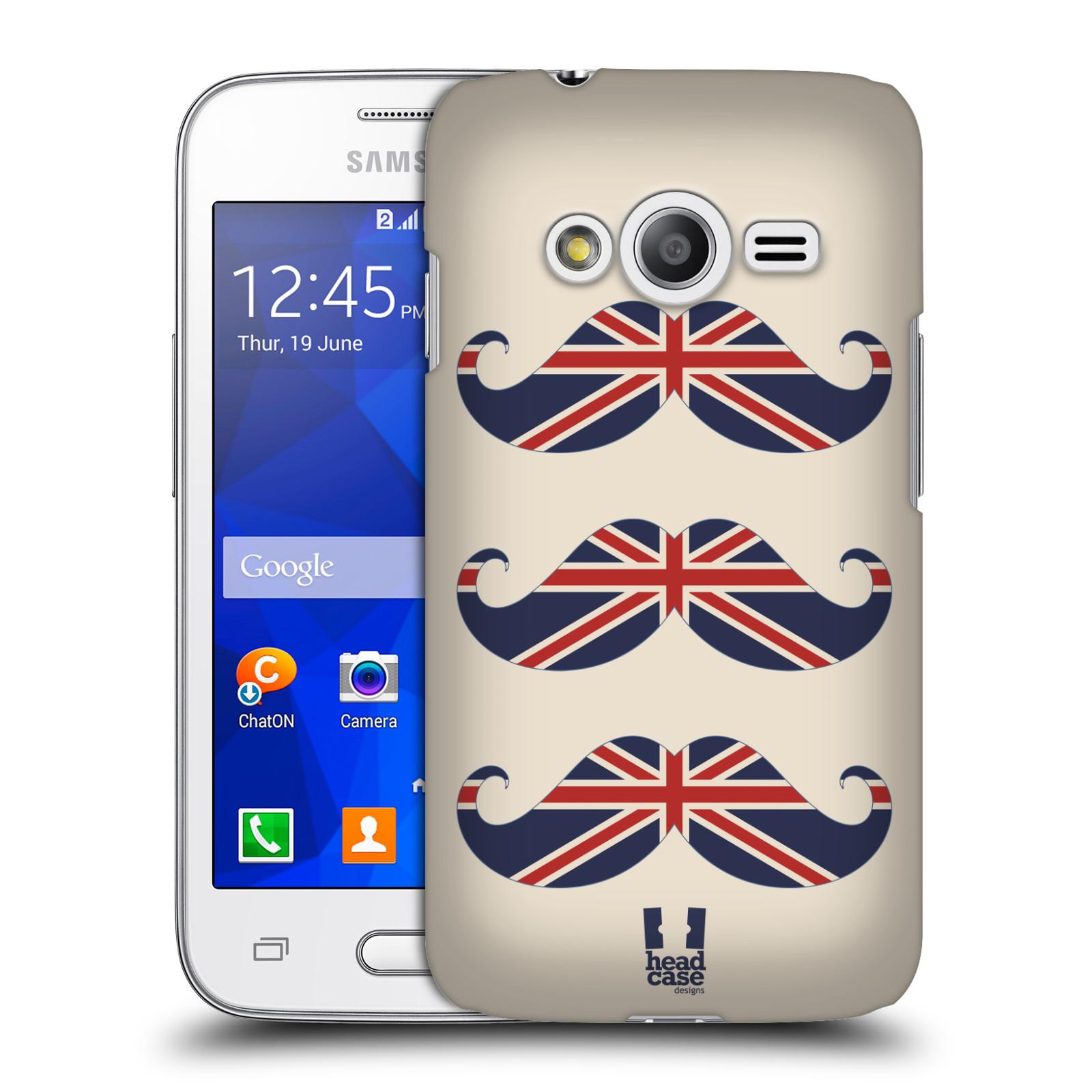 Plastové pouzdro na mobil Samsung Galaxy Trend 2 Lite HEAD CASE BRITSKÉ KNÍRY (Plastový kryt či obal na mobilní telefon Samsung Galaxy Trend 2 Lite SM-G318)