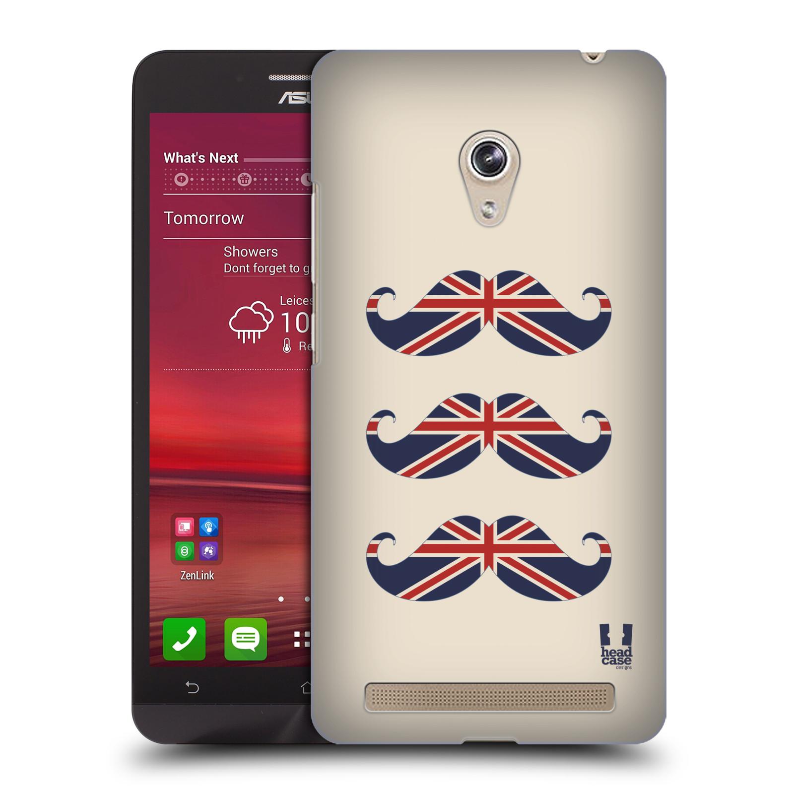 Plastové pouzdro na mobil Asus Zenfone 6 HEAD CASE BRITSKÉ KNÍRY (Plastový kryt či obal na mobilní telefon Asus Zenfone 6 A600CG / A601CG)