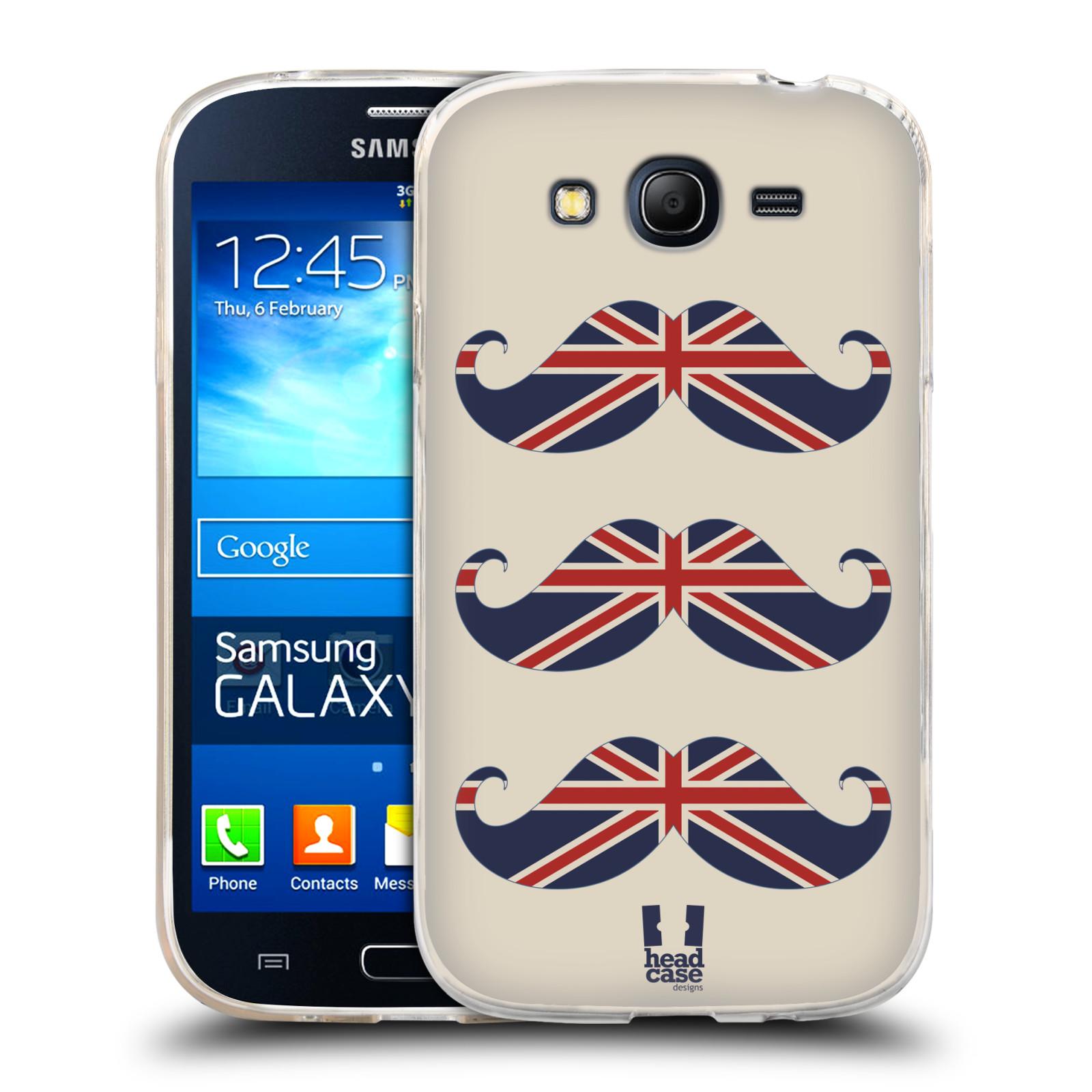 Silikonové pouzdro na mobil Samsung Galaxy Grand Neo HEAD CASE BRITSKÉ KNÍRY (Silikonový kryt či obal na mobilní telefon Samsung Galaxy Grand Neo GT-I9060)