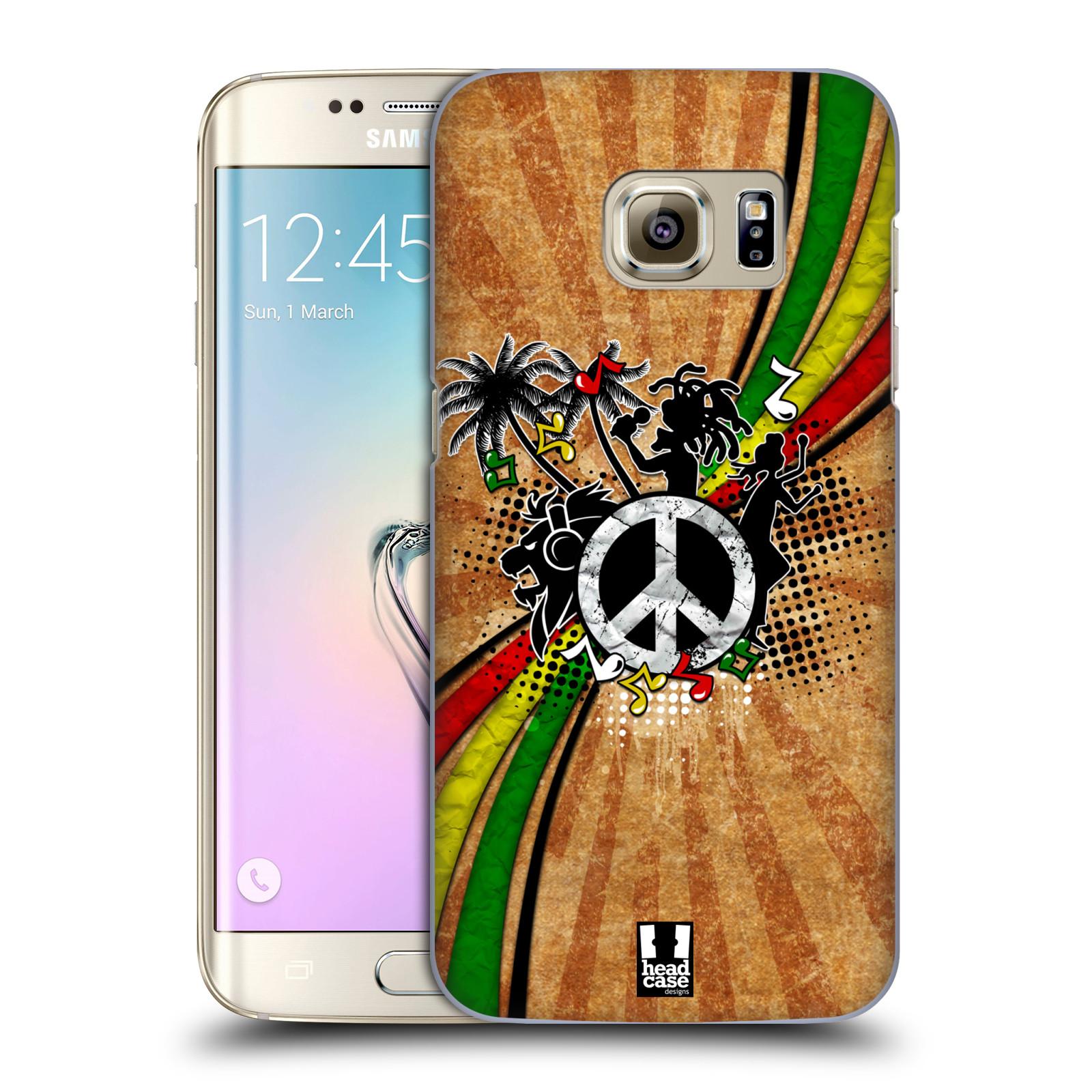 Plastové pouzdro na mobil Samsung Galaxy S7 Edge HEAD CASE REGGAE (Kryt či obal na mobilní telefon Samsung Galaxy S7 Edge SM-G935F)