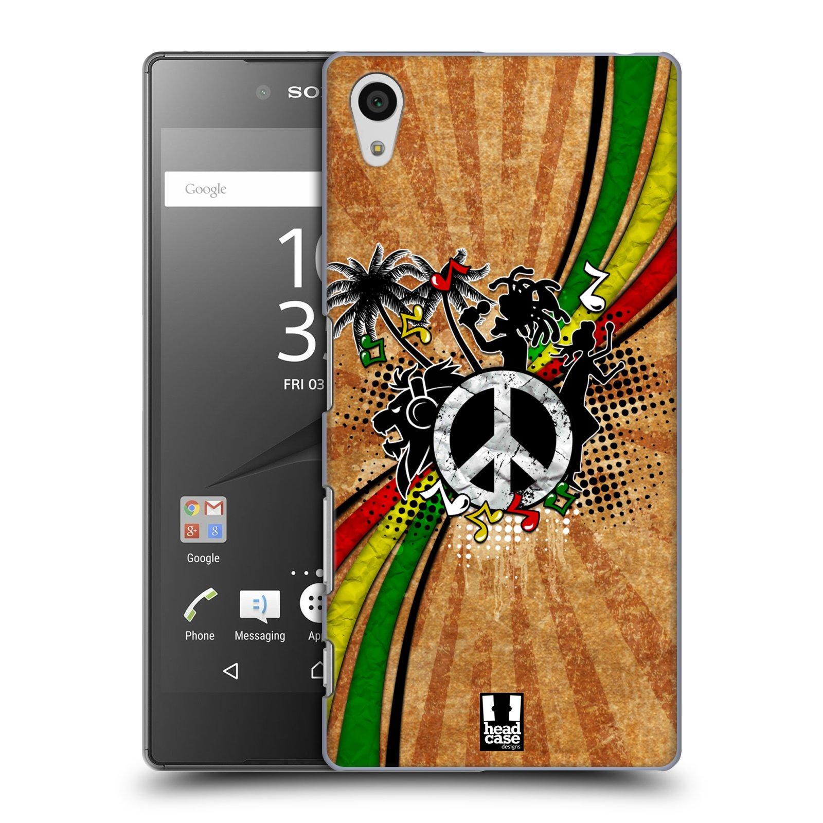 Plastové pouzdro na mobil Sony Xperia Z5 HEAD CASE REGGAE (Kryt či obal na mobilní telefon Sony Xperia Z5 E6653)