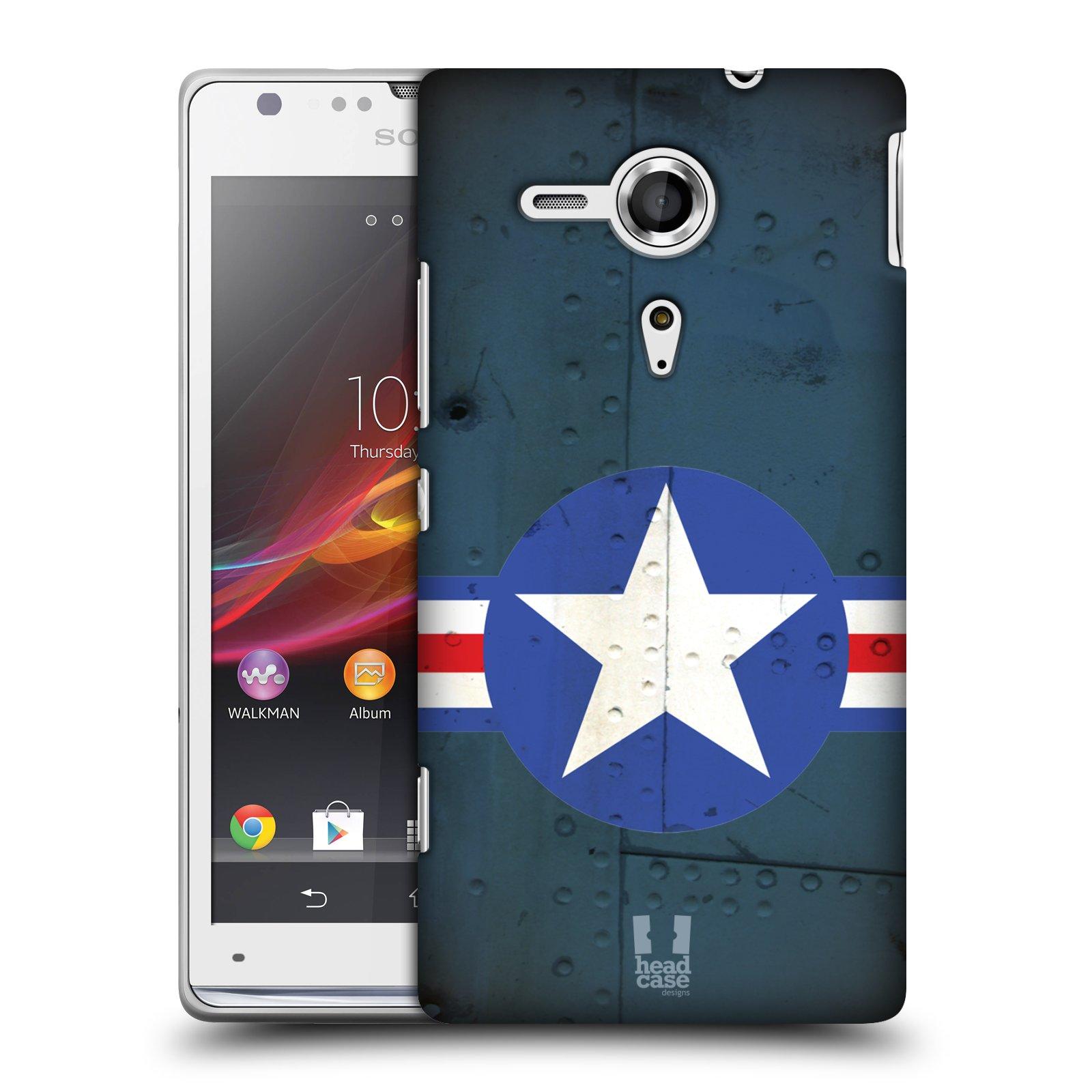 Plastové pouzdro na mobil Sony Xperia SP C5303 HEAD CASE POSTWAR (Kryt či obal na mobilní telefon Sony Xperia SP )