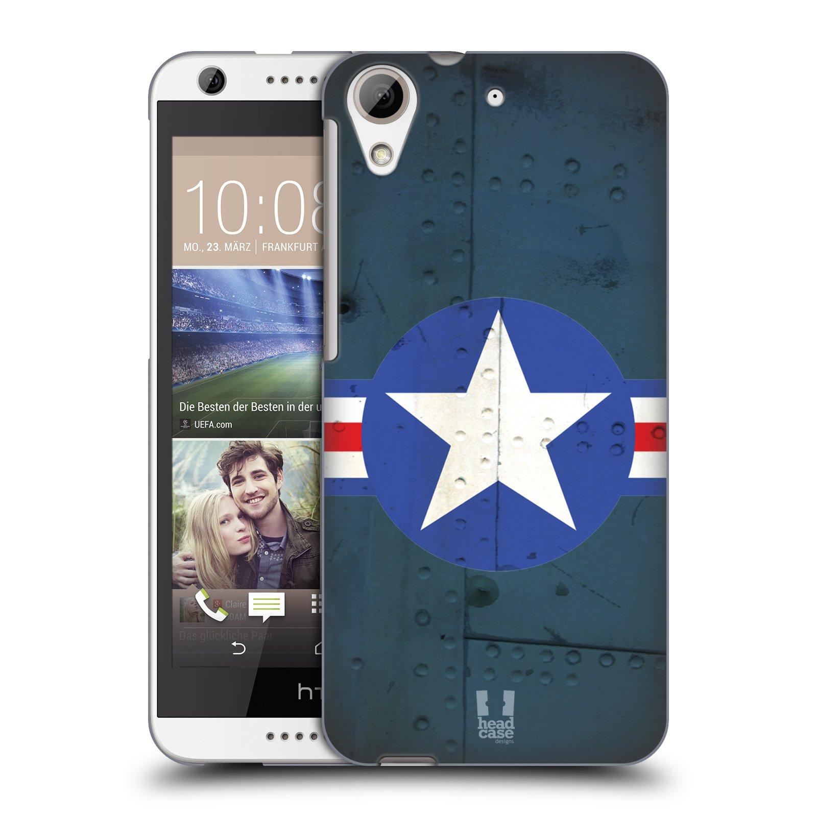 Plastové pouzdro na mobil HTC Desire 626 / 626G HEAD CASE POSTWAR (Kryt či obal na mobilní telefon HTC Desire 626G Dual SIM a HTC Desire 626)