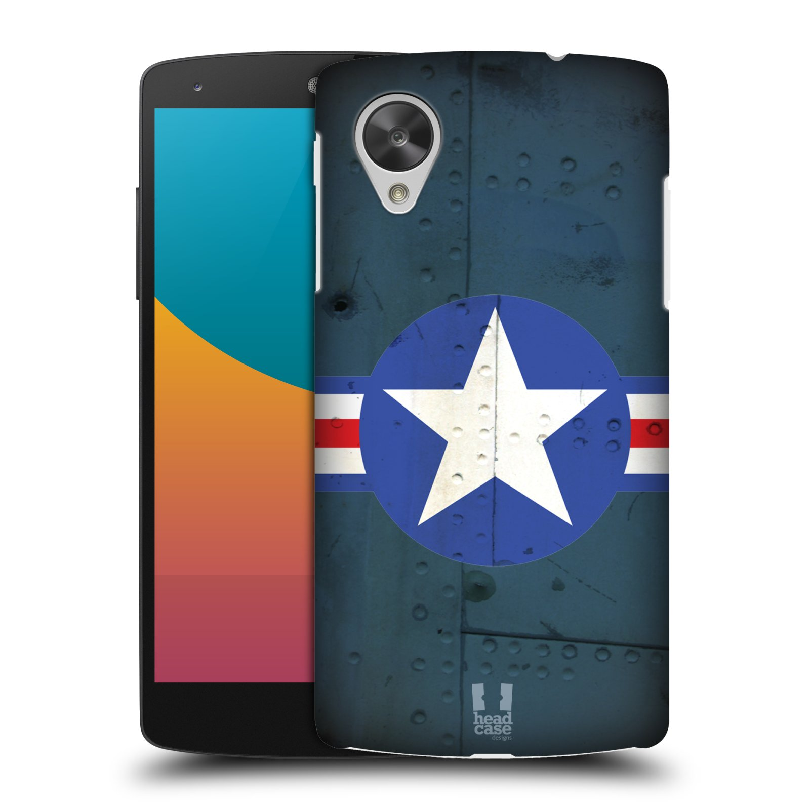 Plastové pouzdro na mobil LG Nexus 5 HEAD CASE POSTWAR (Kryt či obal na mobilní telefon LG Google Nexus 5 D821)