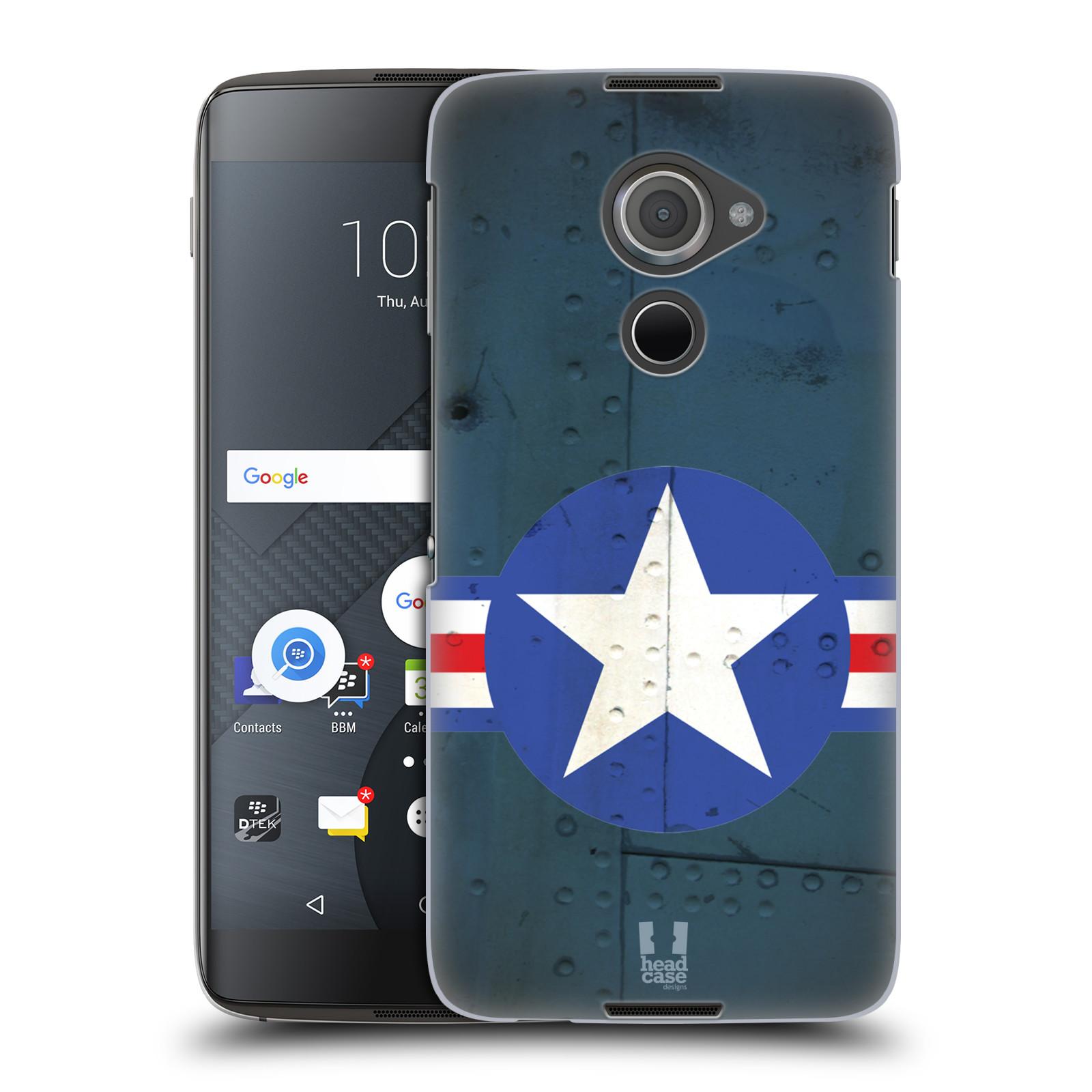 Plastové pouzdro na mobil Blackberry DTEK60 (Argon) - Head Case POSTWAR (Plastový kryt či obal na mobilní telefon Blackberry DTEK60 (Argon))