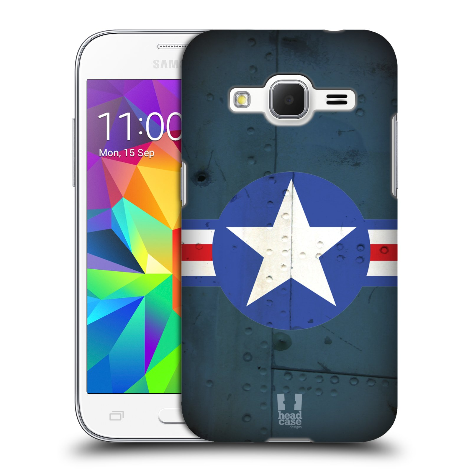 Plastové pouzdro na mobil Samsung Galaxy Core Prime VE HEAD CASE POSTWAR (Kryt či obal na mobilní telefon Samsung Galaxy Core Prime LTE VE SM-G361F)