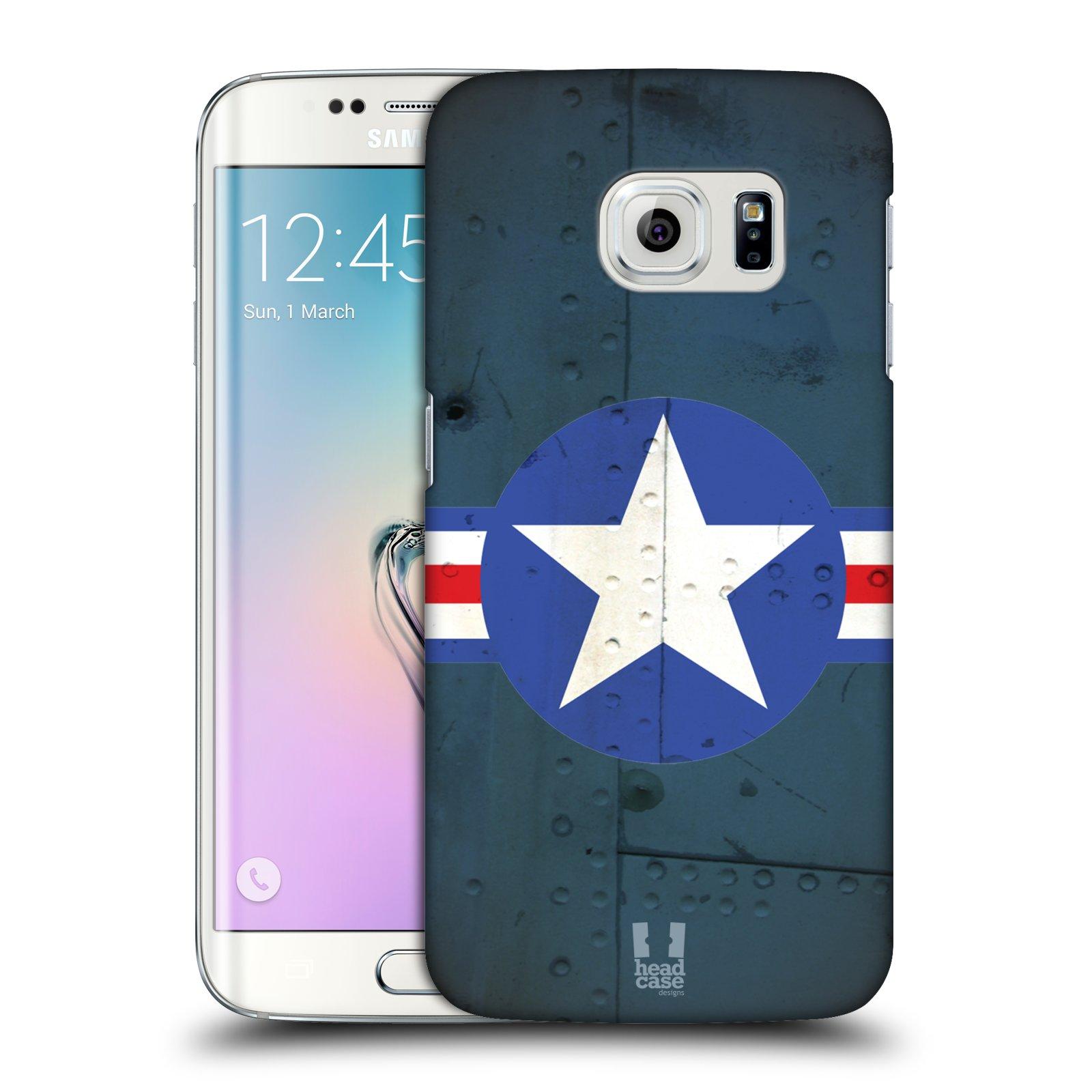 Plastové pouzdro na mobil Samsung Galaxy S6 Edge HEAD CASE POSTWAR (Kryt či obal na mobilní telefon Samsung Galaxy S6 Edge SM-G925F)