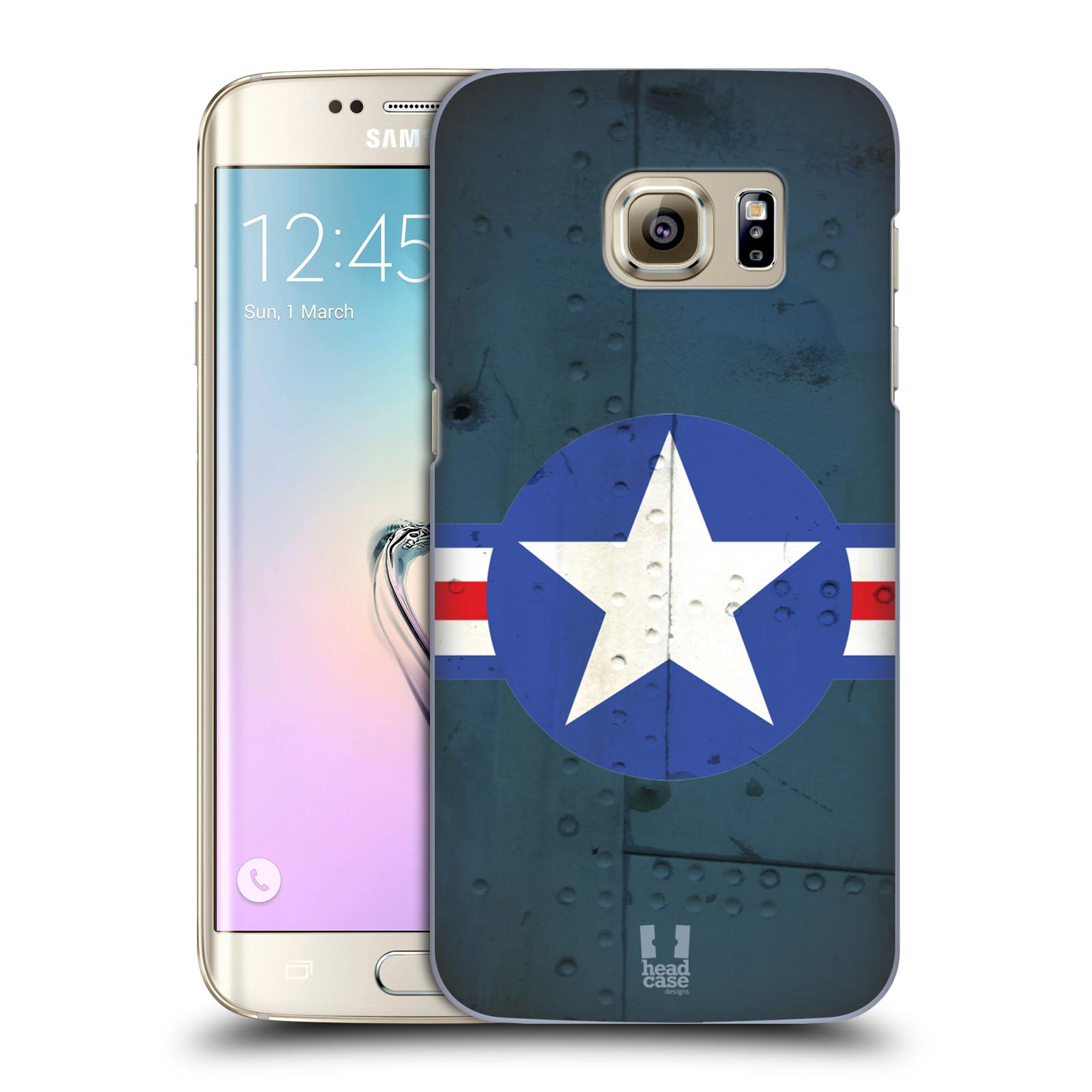 Plastové pouzdro na mobil Samsung Galaxy S7 Edge HEAD CASE POSTWAR
