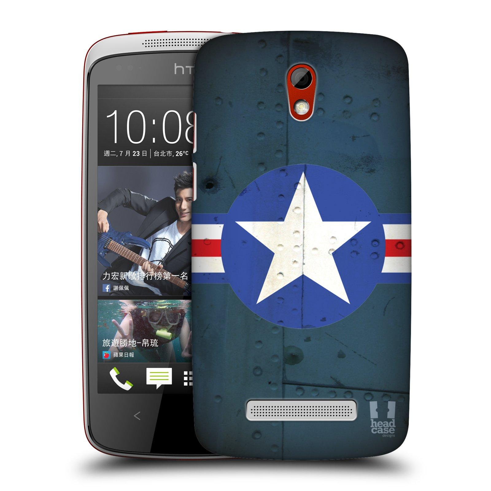 Plastové pouzdro na mobil HTC Desire 500 HEAD CASE POSTWAR (Kryt či obal na mobilní telefon HTC Desire 500)