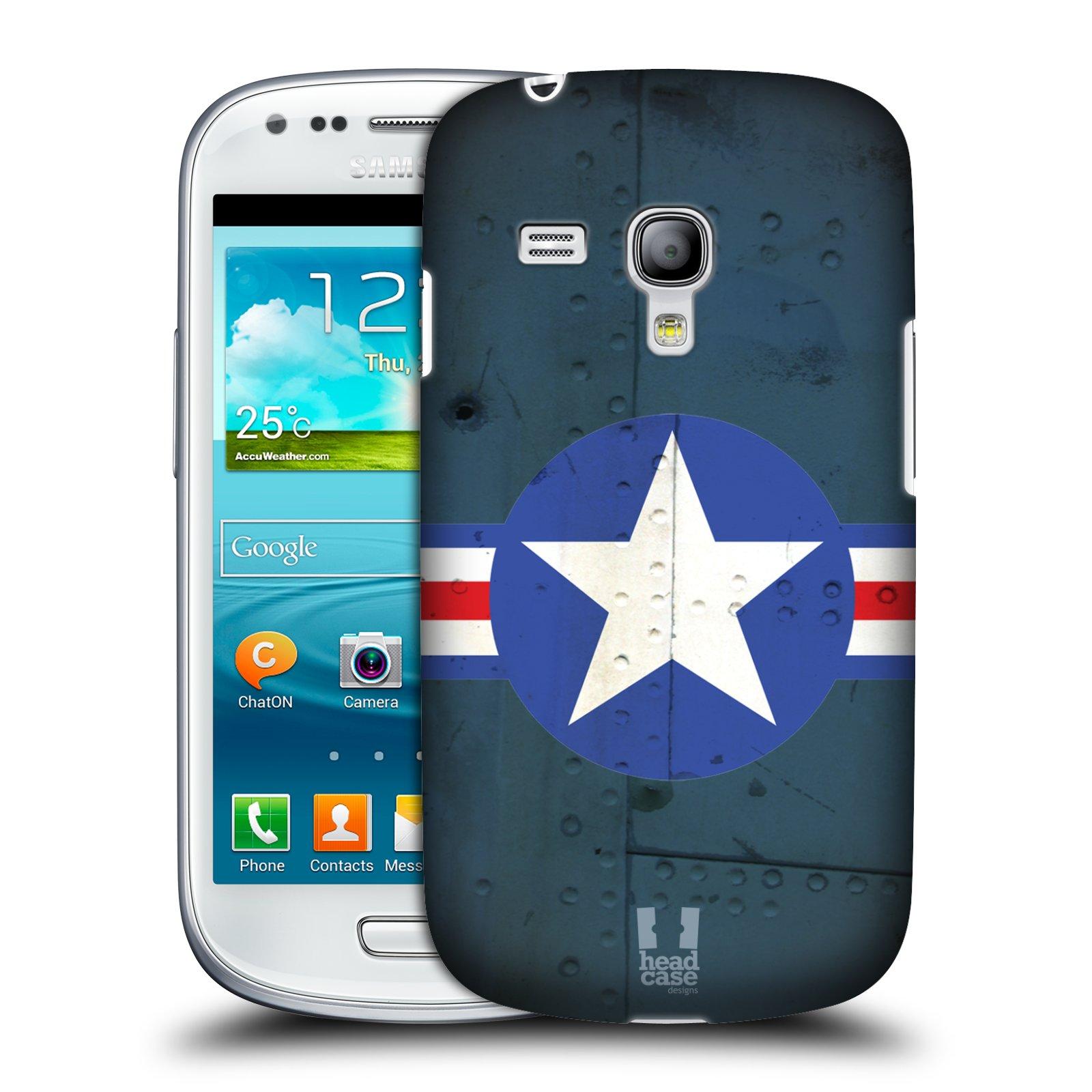 Plastové pouzdro na mobil Samsung Galaxy S III Mini HEAD CASE POSTWAR (Kryt či obal na mobilní telefon Samsung Galaxy S III Mini GT-i8190)
