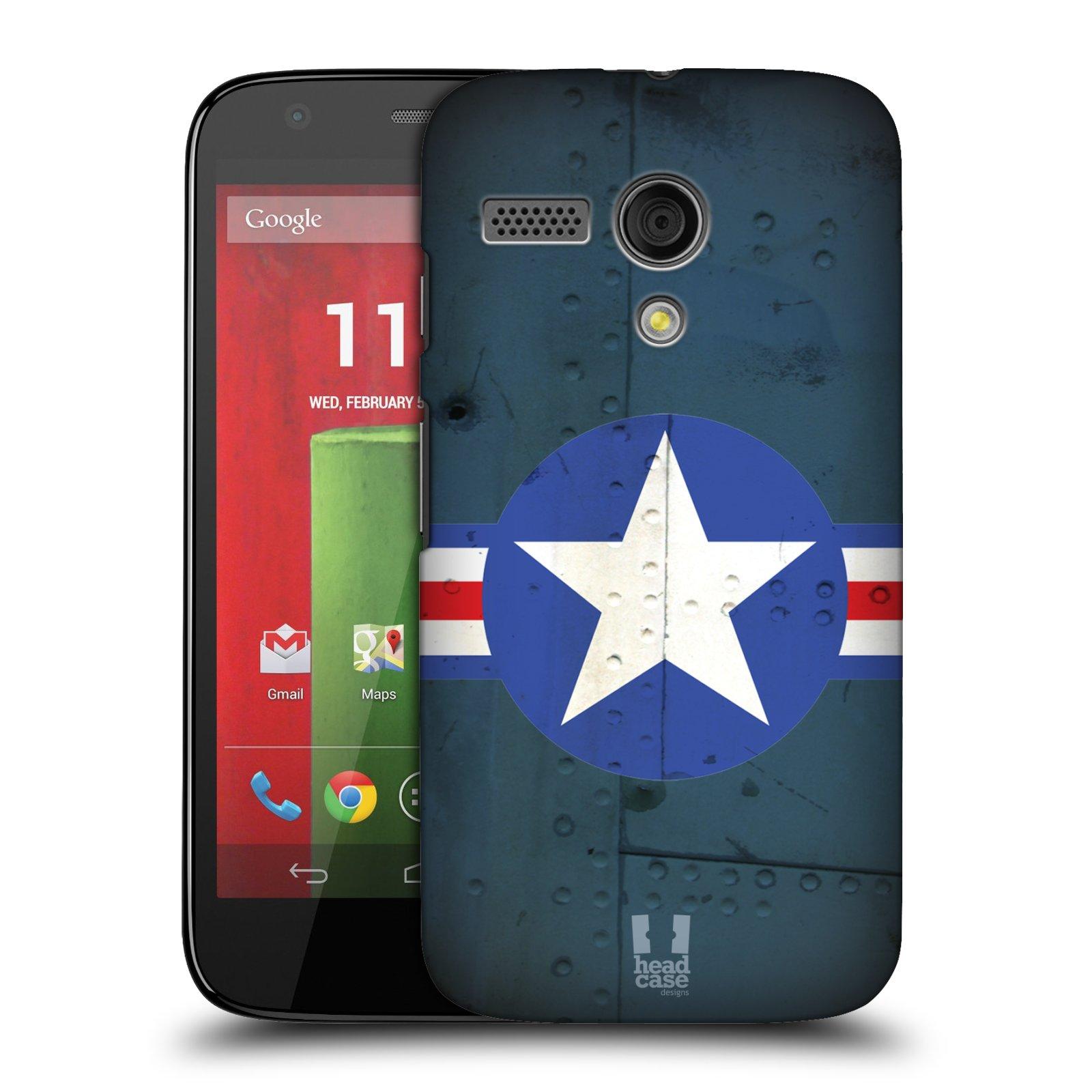 Plastové pouzdro na mobil Motorola Moto G HEAD CASE POSTWAR (Kryt či obal na mobilní telefon Motorola Moto G)