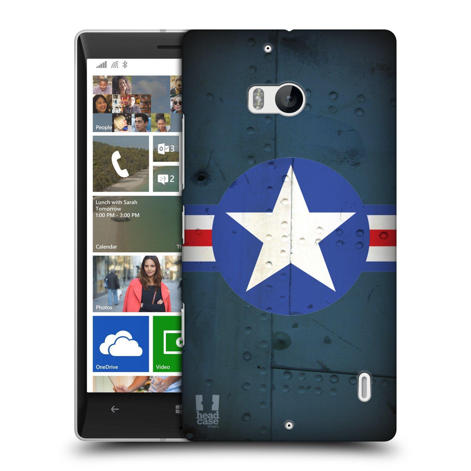 Plastové pouzdro na mobil Nokia Lumia 930 HEAD CASE POSTWAR (Kryt či obal na mobilní telefon Nokia Lumia 930)