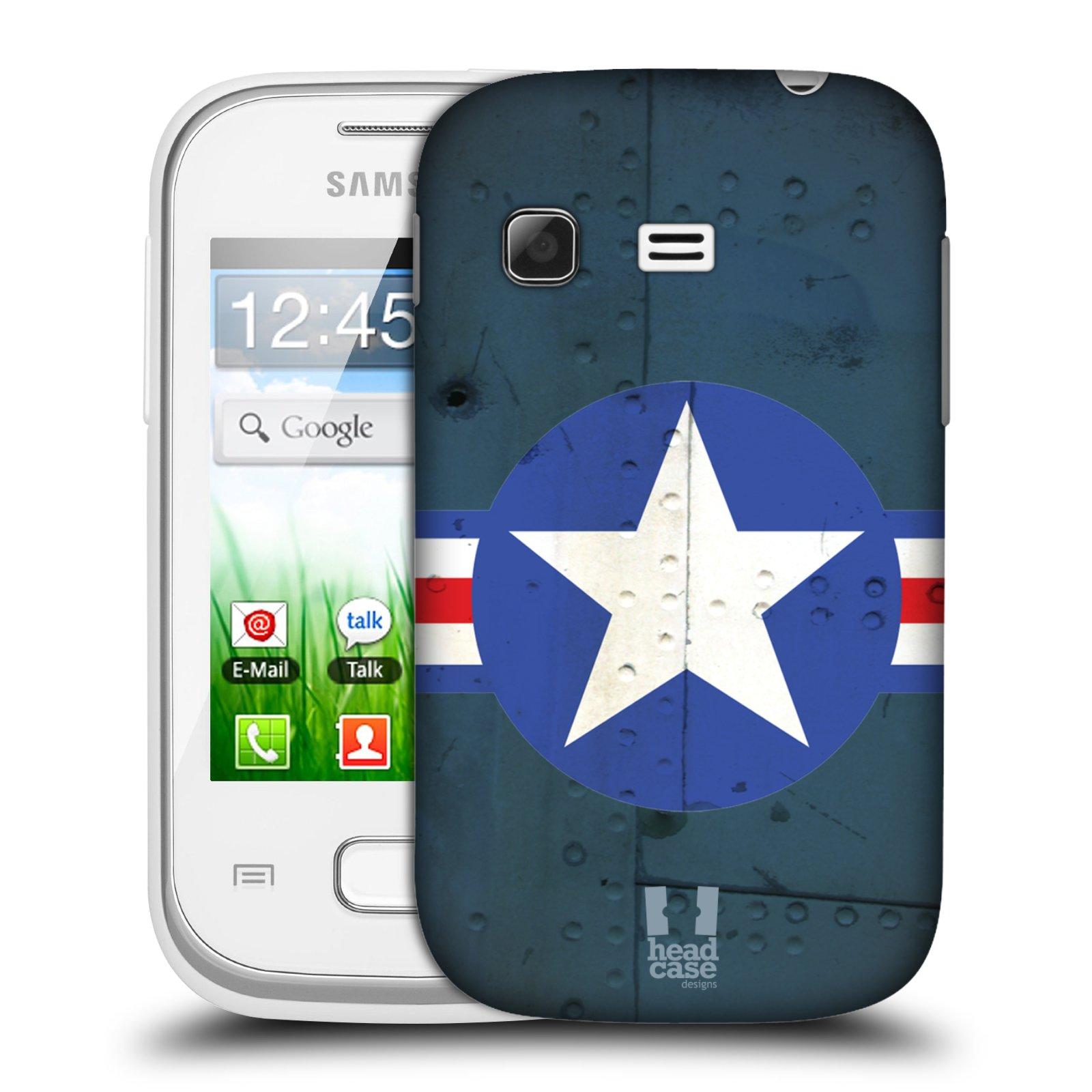 Plastové pouzdro na mobil Samsung Galaxy Pocket HEAD CASE POSTWAR (Kryt či obal na mobilní telefon Samsung Galaxy Pocket GT-S5300)