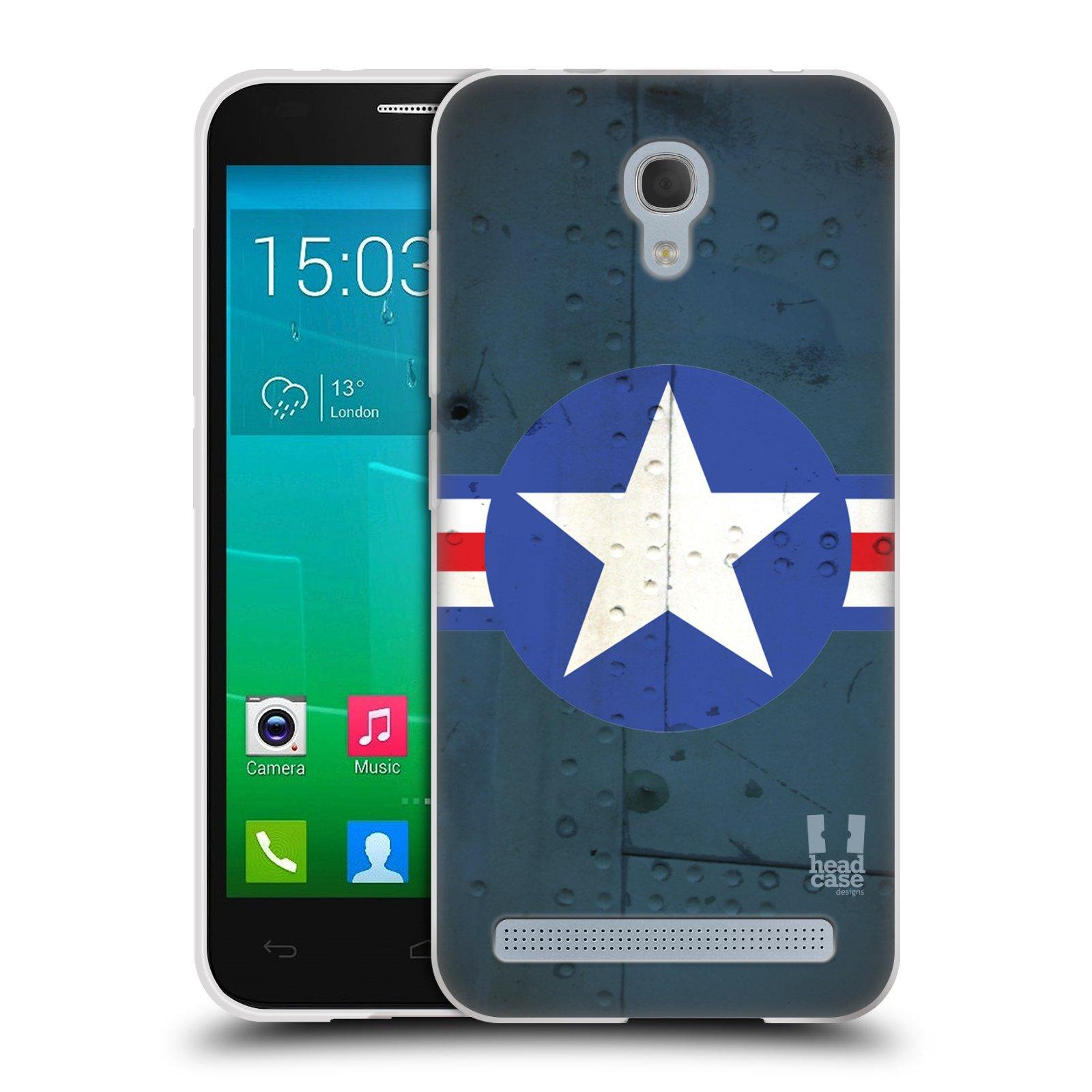 Silikonové pouzdro na mobil Alcatel One Touch Idol 2 Mini S 6036Y HEAD CASE POSTWAR (Silikonový kryt či obal na mobilní telefon Alcatel Idol 2 Mini S OT-6036Y)