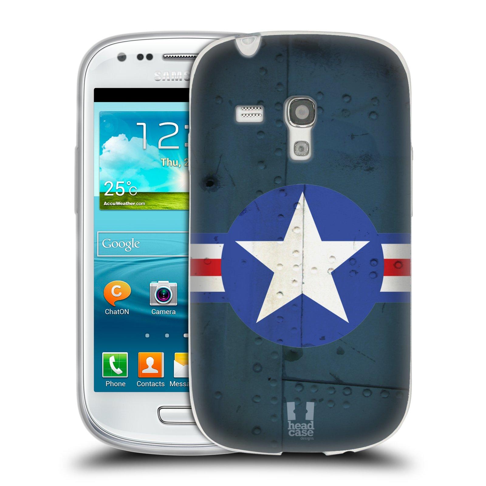 Silikonové pouzdro na mobil Samsung Galaxy S III Mini HEAD CASE POSTWAR (Silikonový kryt či obal na mobilní telefon Samsung Galaxy S III Mini GT-i8190)