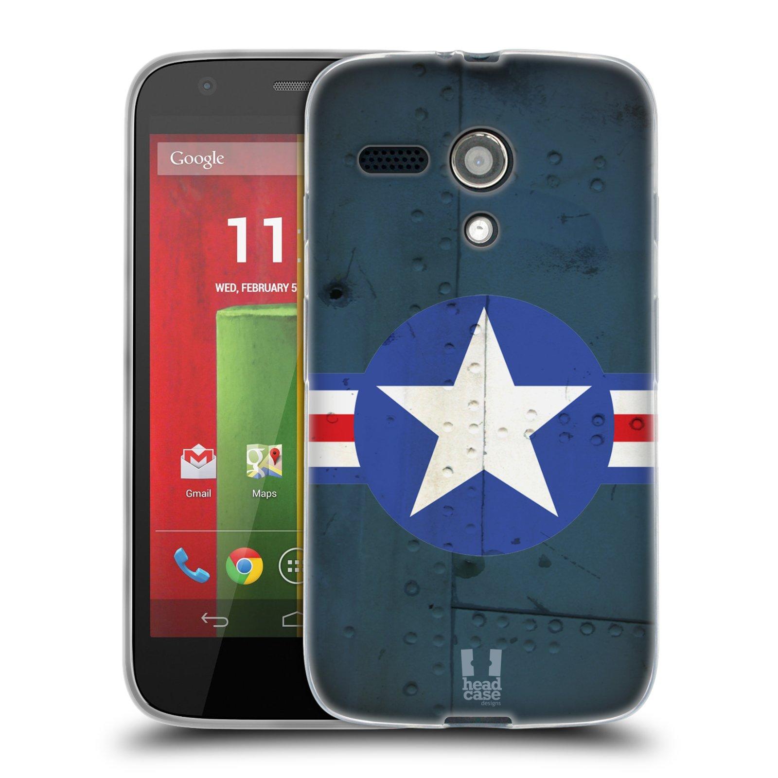 Silikonové pouzdro na mobil Motorola Moto G HEAD CASE POSTWAR (Silikonový kryt či obal na mobilní telefon Motorola Moto G)