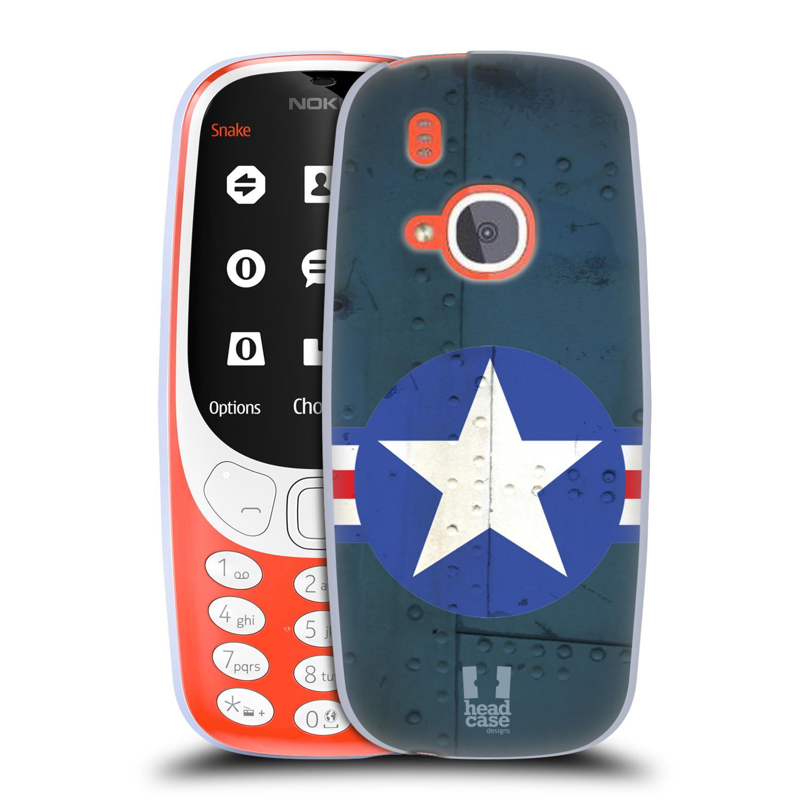 Silikonové pouzdro na mobil Nokia 3310 - Head Case - POSTWAR (Silikonový kryt či obal na mobilní telefon Nokia 3310 (2017) s motivem POSTWAR)