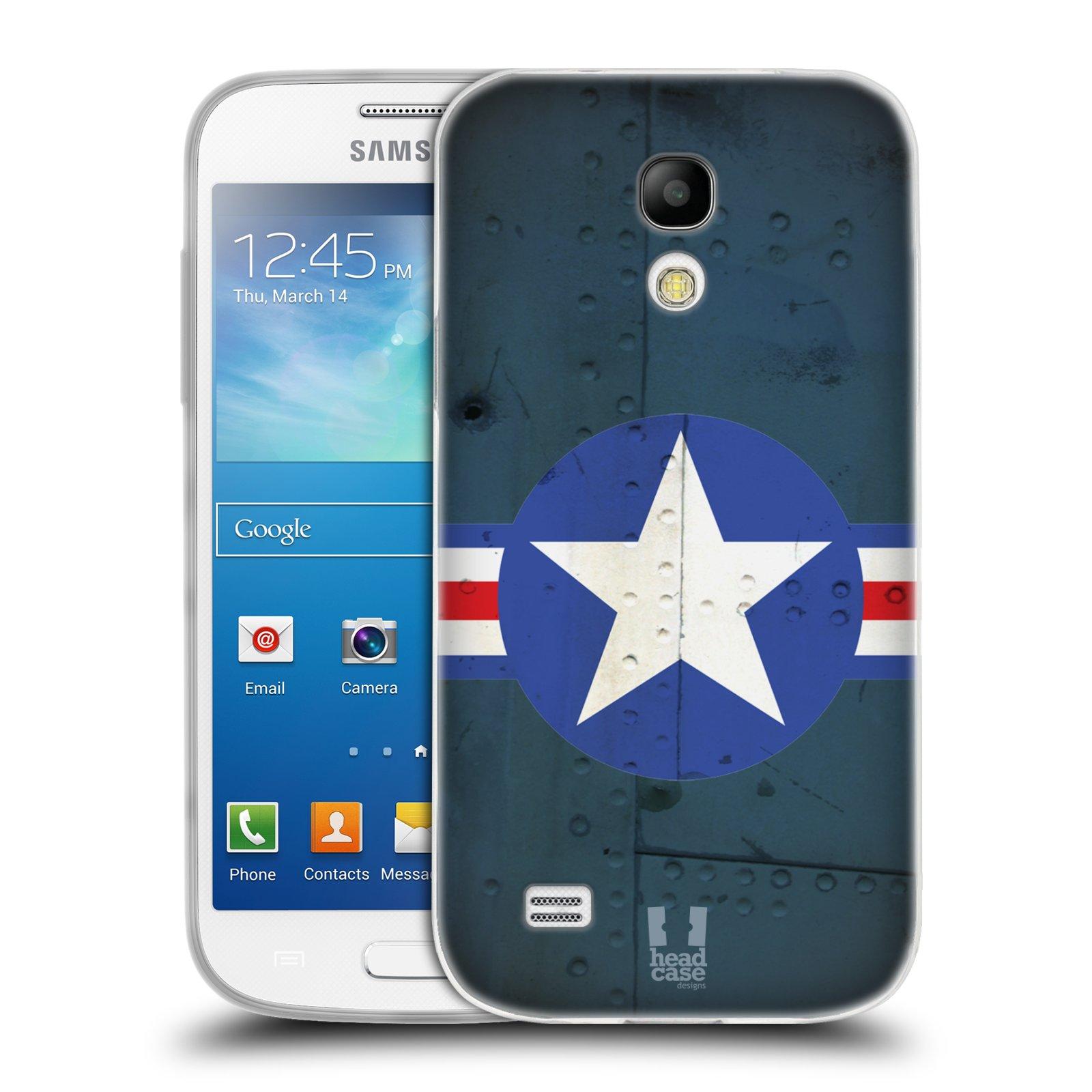 Silikonové pouzdro na mobil Samsung Galaxy S4 Mini HEAD CASE POSTWAR (Silikonový kryt či obal na mobilní telefon Samsung Galaxy S4 Mini GT-i9195 / i9190 (nepasuje na verzi Black Edition))