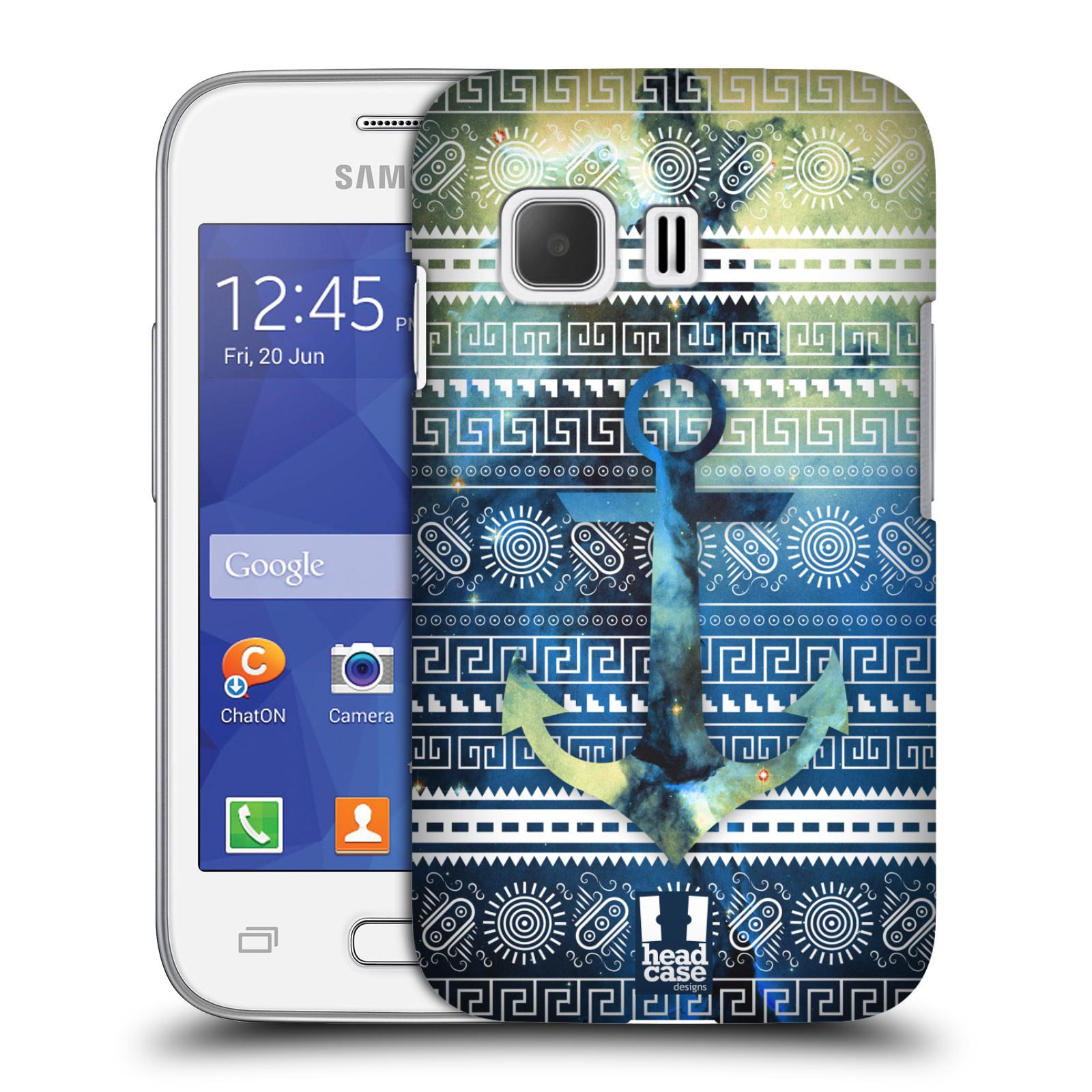 Plastové pouzdro na mobil Samsung Galaxy Young 2 HEAD CASE NEBULA KOTVA