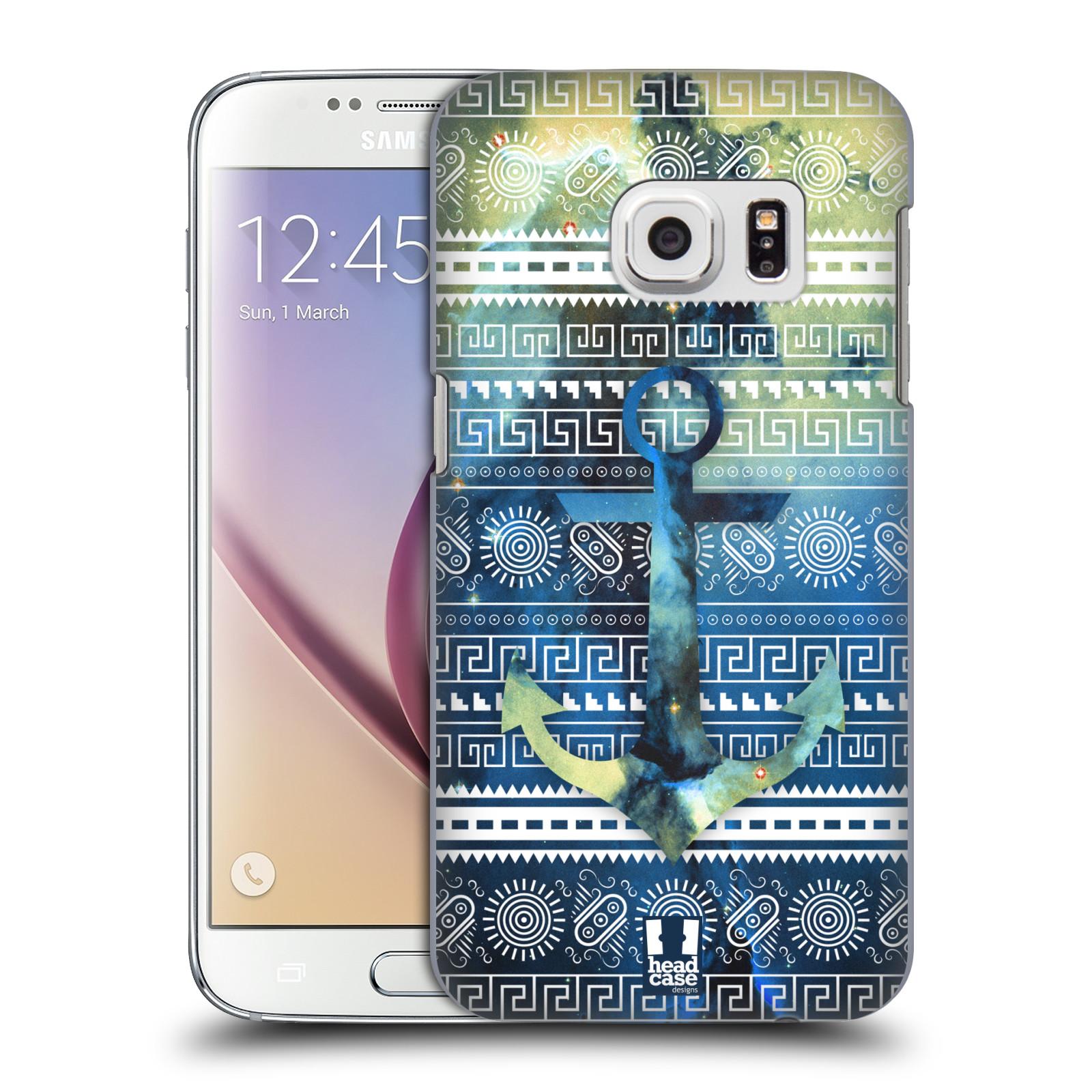 Plastové pouzdro na mobil Samsung Galaxy S7 HEAD CASE NEBULA KOTVA (Kryt či obal na mobilní telefon Samsung Galaxy S7 SM-G930F)