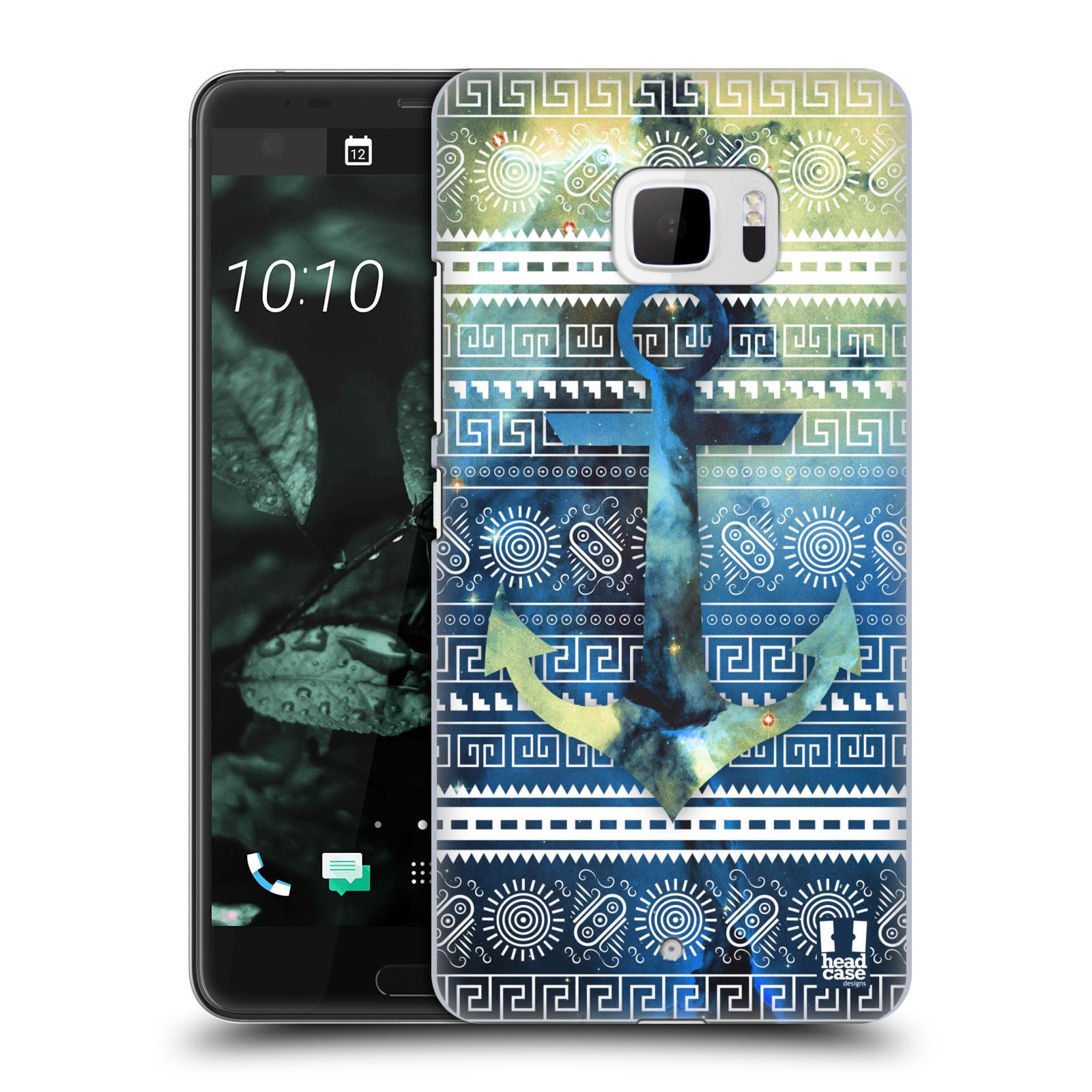 Plastové pouzdro na mobil HTC U Ultra Head Case - NEBULA KOTVA (Plastový kryt či obal na mobilní telefon HTC U Ultra (99HALT015-00))