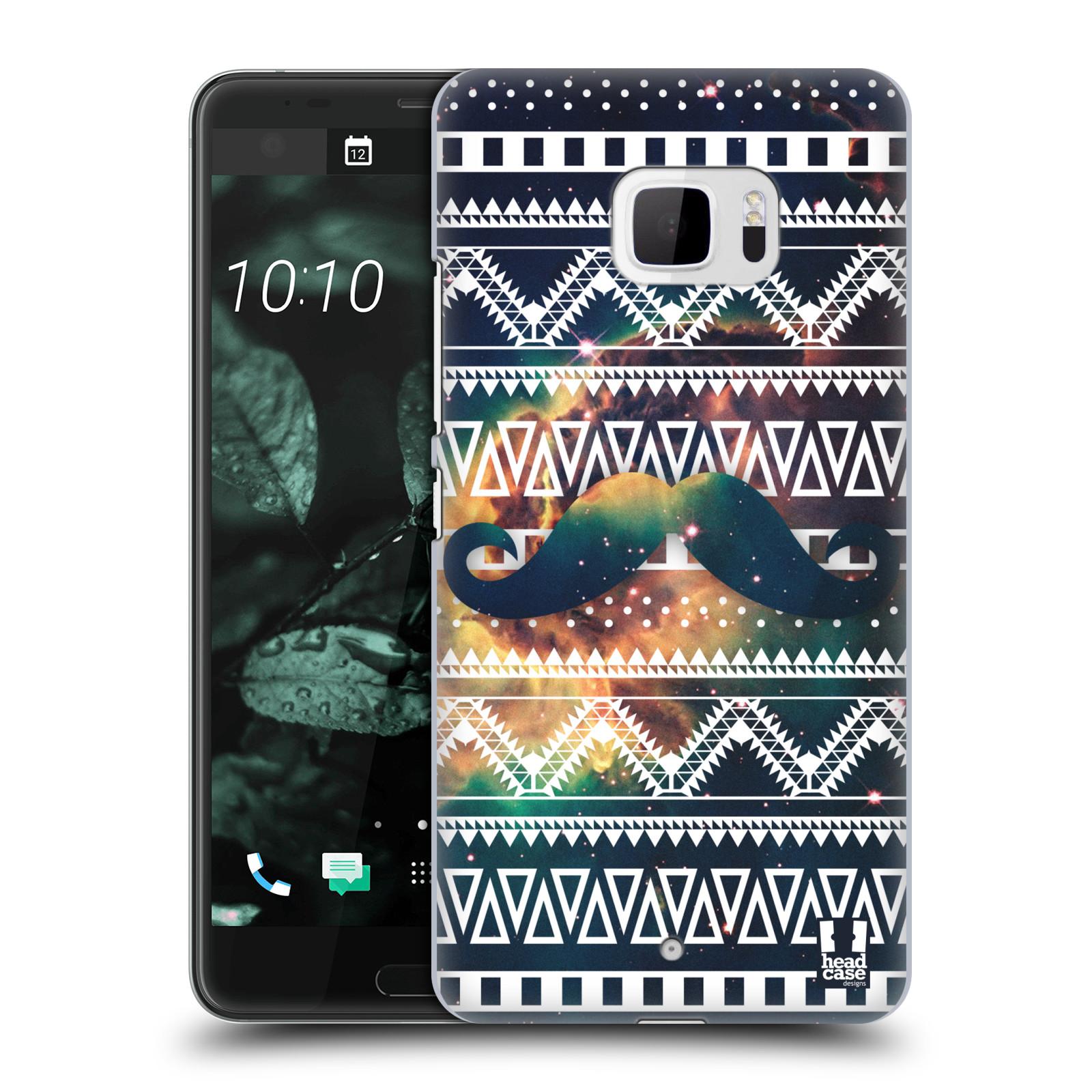 Plastové pouzdro na mobil HTC U Ultra Head Case - AZTEC KNÍR (Plastový kryt či obal na mobilní telefon HTC U Ultra (99HALT015-00))