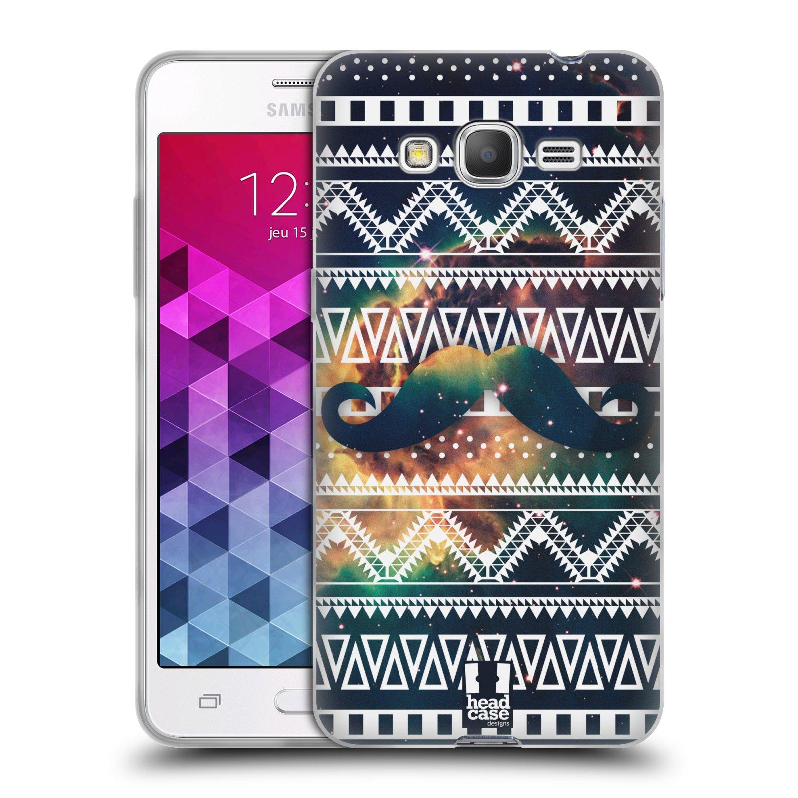 Silikonové pouzdro na mobil Samsung Galaxy Grand Prime HEAD CASE AZTEC KNÍR