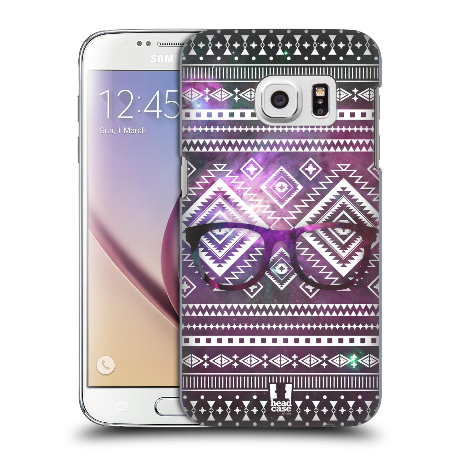 Plastové pouzdro na mobil Samsung Galaxy S7 HEAD CASE NEBULA BRÝLE (Kryt či obal na mobilní telefon Samsung Galaxy S7 SM-G930F)
