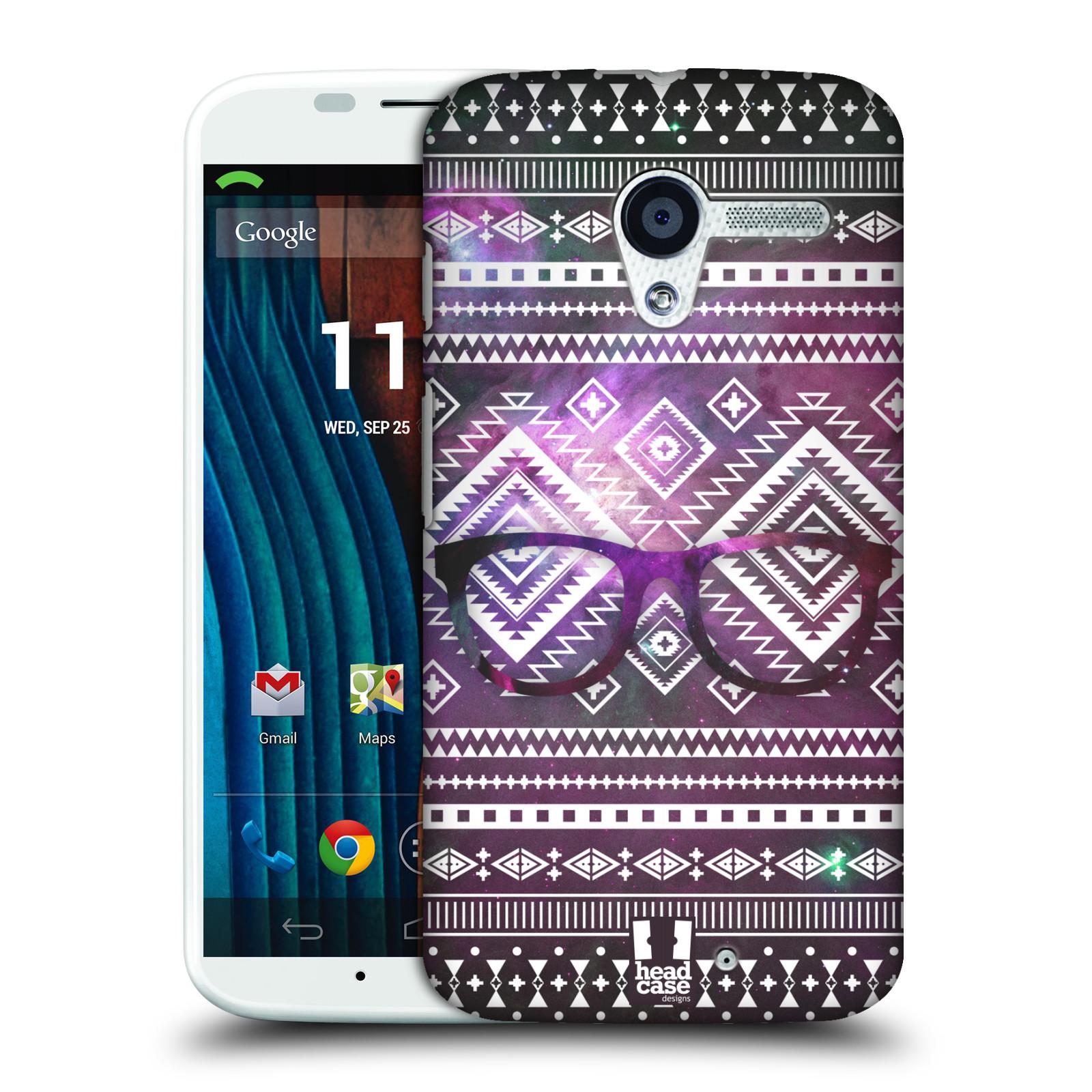Plastové pouzdro na mobil Motorola Moto X HEAD CASE NEBULA BRÝLE (Kryt či obal na mobilní telefon Motorola Moto X)
