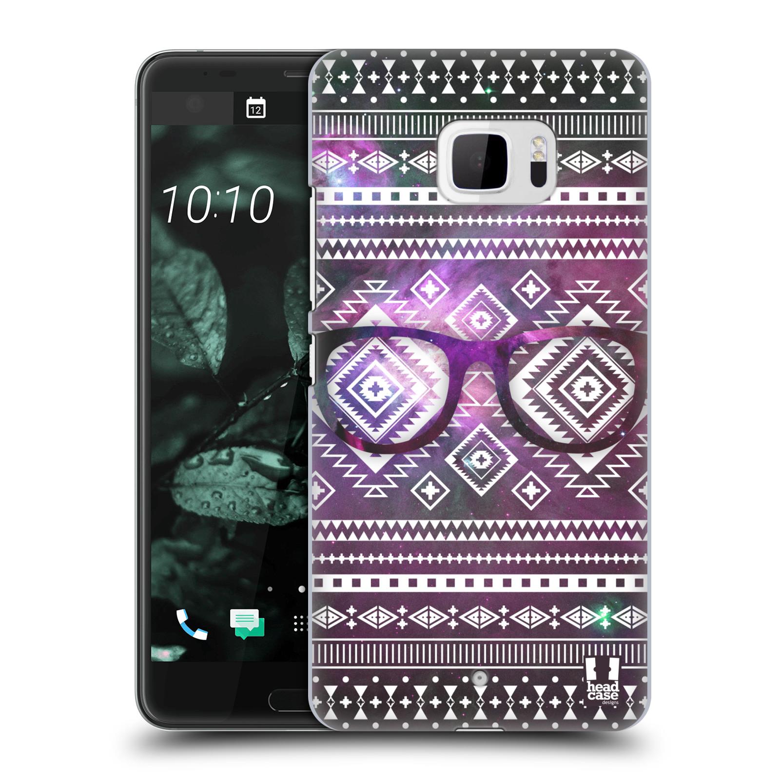 Plastové pouzdro na mobil HTC U Ultra Head Case - NEBULA BRÝLE (Plastový kryt či obal na mobilní telefon HTC U Ultra (99HALT015-00))