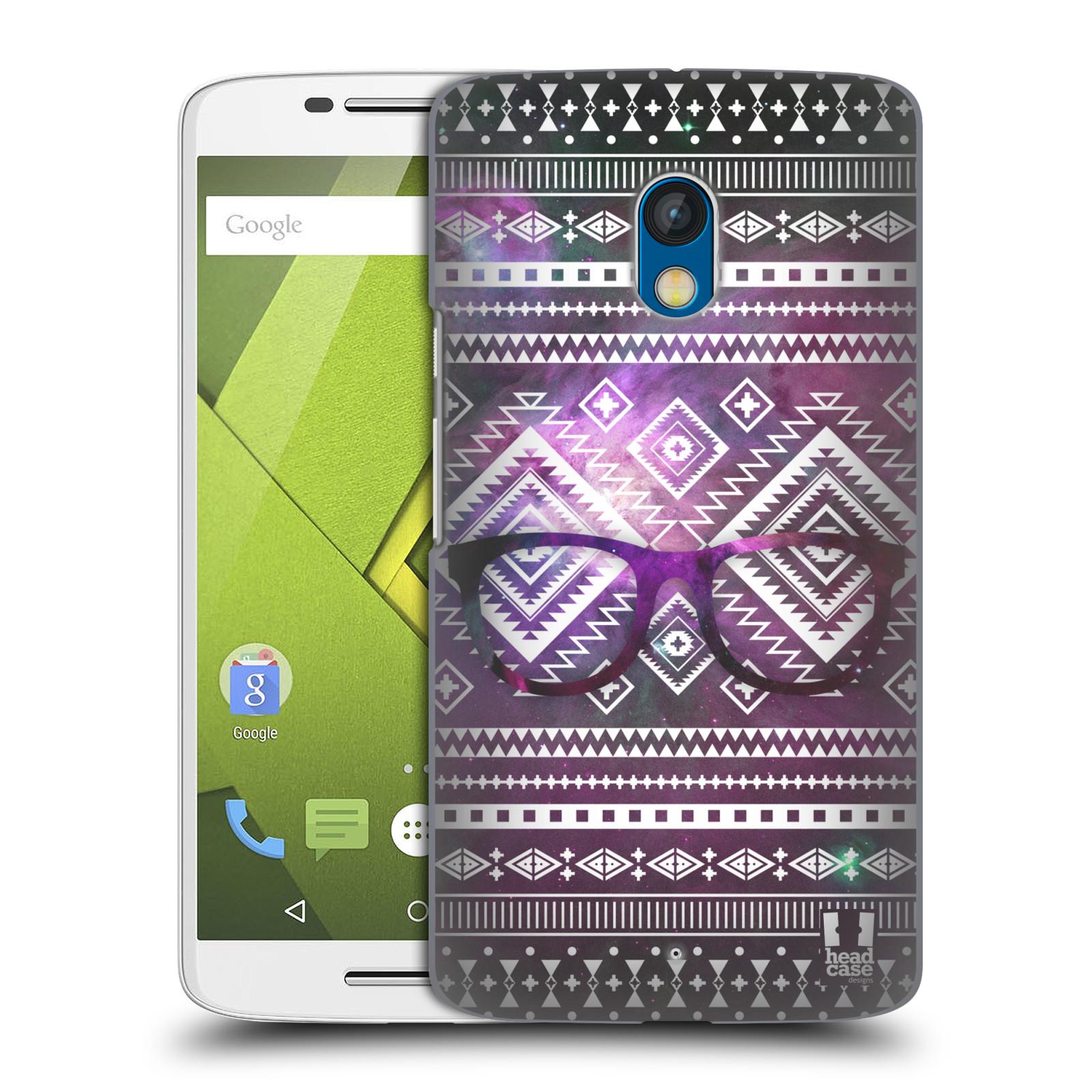 Plastové pouzdro na mobil Motorola Moto X Play HEAD CASE NEBULA BRÝLE (Kryt či obal na mobilní telefon Motorola Moto X Play XT1562)