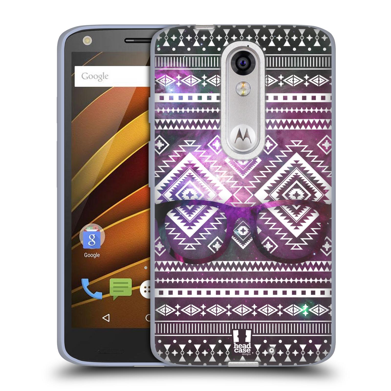 Silikonové pouzdro na mobil Lenovo Moto X Force HEAD CASE NEBULA BRÝLE (Silikonový kryt či obal na mobilní telefon Lenovo Moto X Force (Motorola))