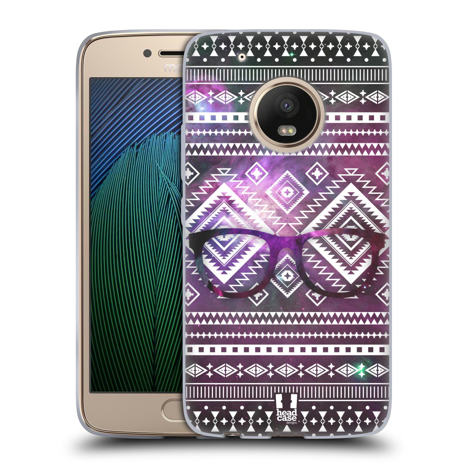 Silikonové pouzdro na mobil Lenovo Moto G5 Plus - Head Case NEBULA BRÝLE (Silikonový kryt či obal na mobilní telefon Lenovo Moto G5 Plus)