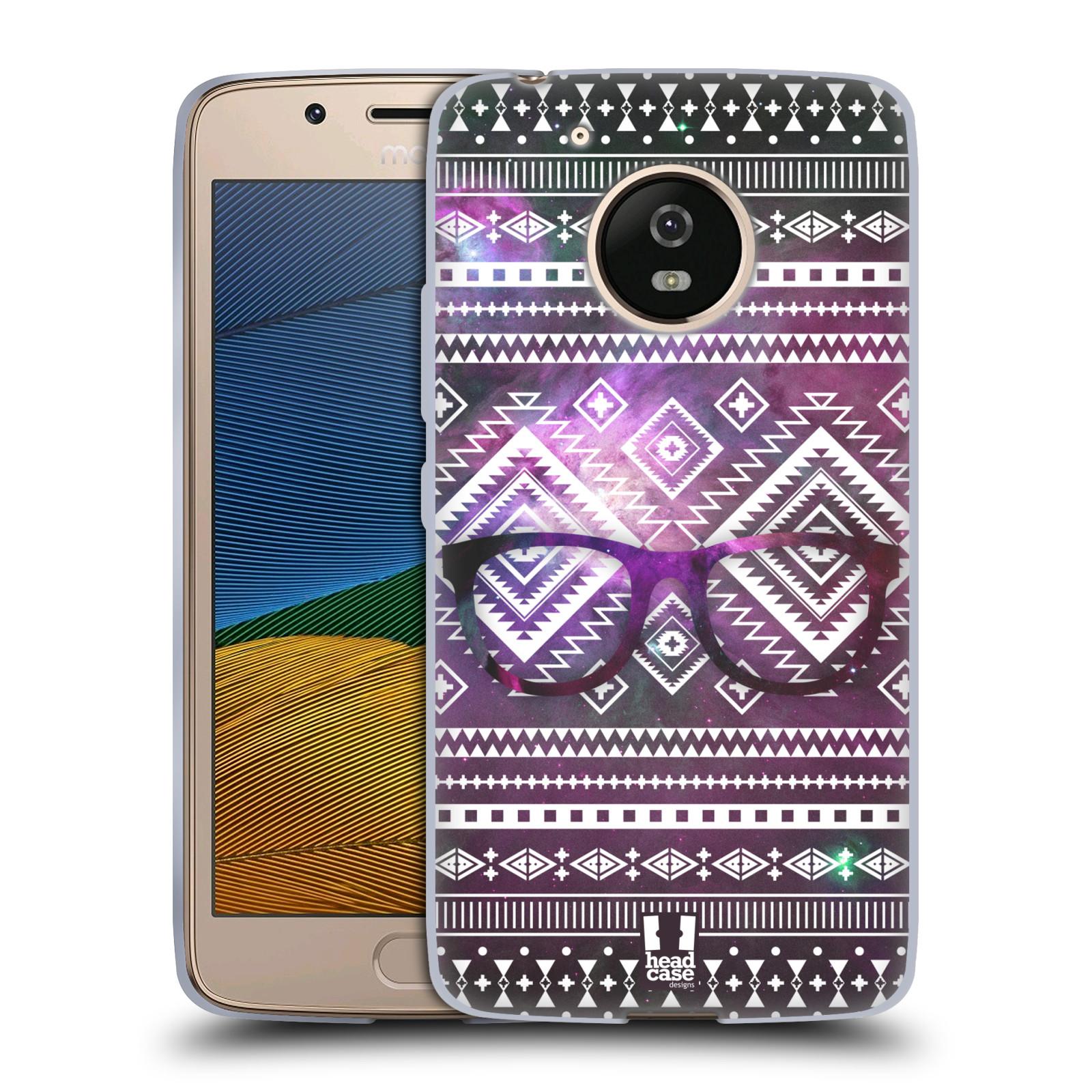 Silikonové pouzdro na mobil Lenovo Moto G5 - Head Case NEBULA BRÝLE (Silikonový kryt či obal na mobilní telefon Lenovo Moto G5)