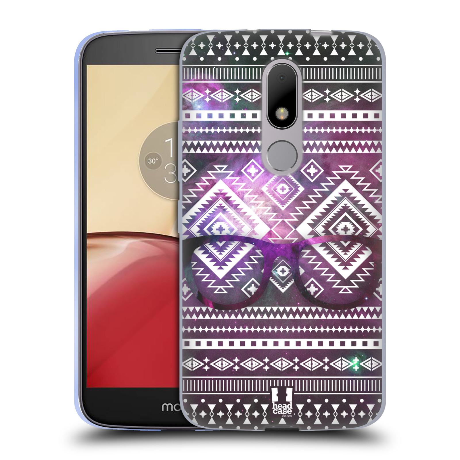 Silikonové pouzdro na mobil Lenovo Moto M - Head Case NEBULA BRÝLE (Silikonový kryt či obal na mobilní telefon Lenovo Moto M (Dual Sim))