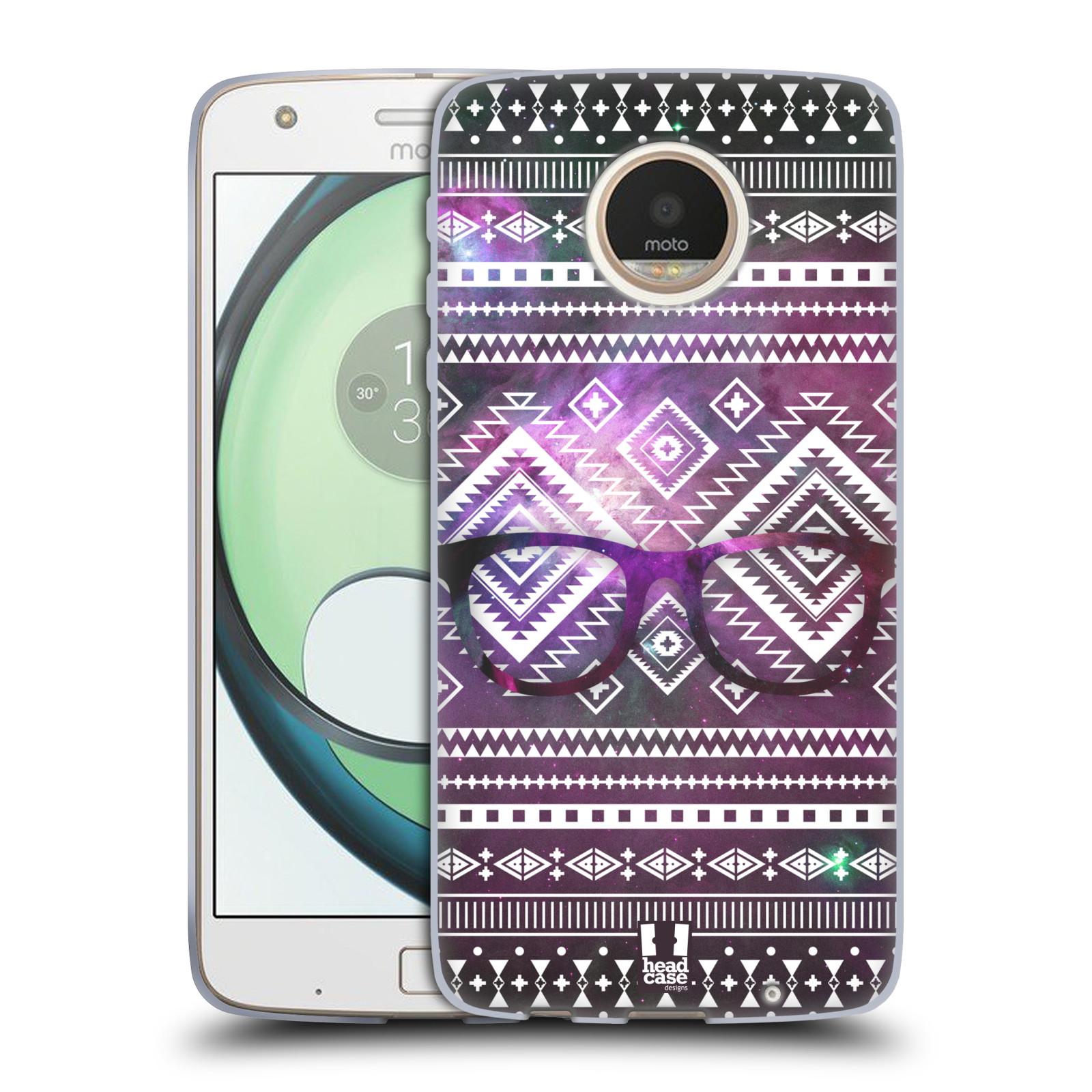 Silikonové pouzdro na mobil Lenovo Moto Z Play HEAD CASE NEBULA BRÝLE (Silikonový kryt či obal na mobilní telefon Lenovo Moto Z Play)