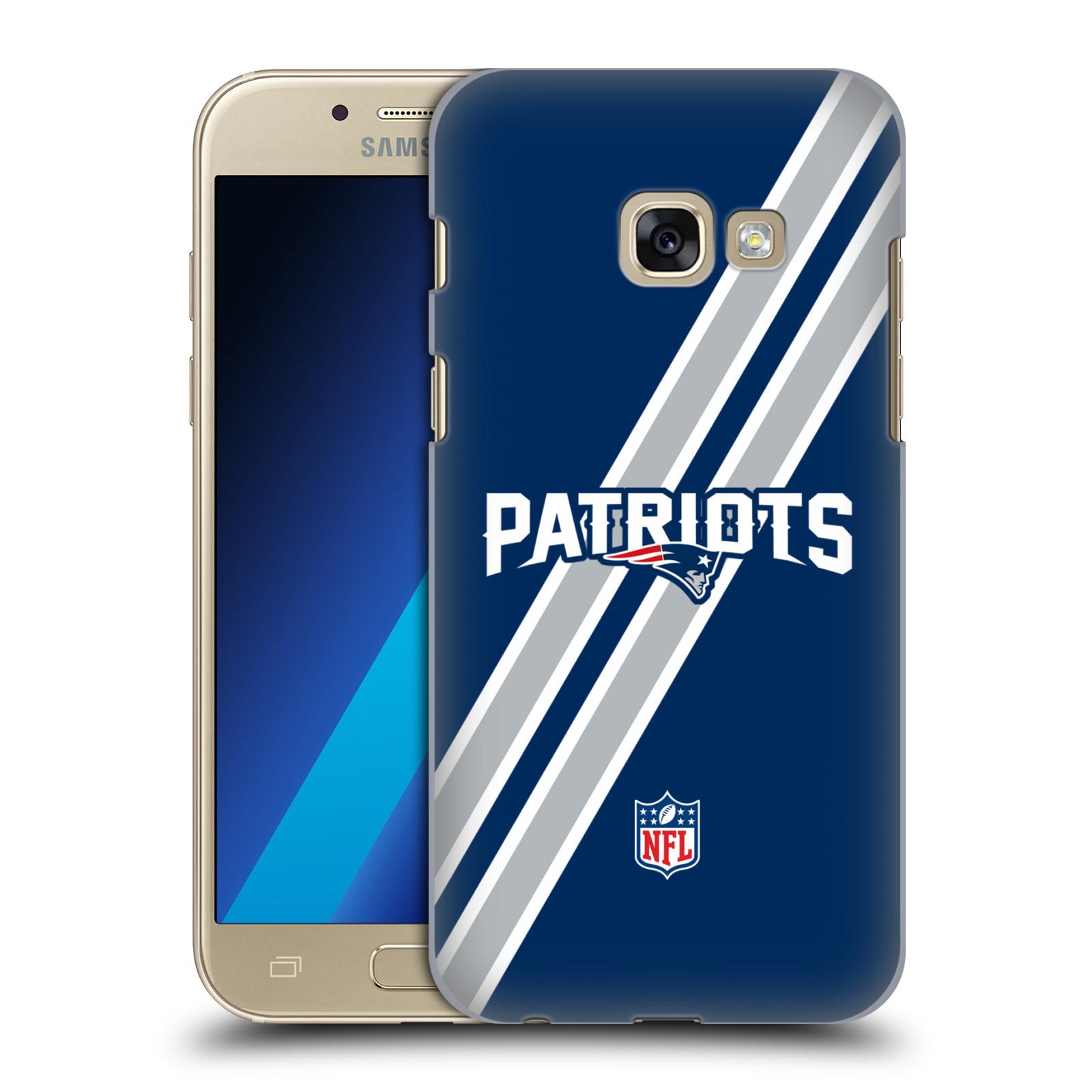 Plastové pouzdro na mobil Samsung Galaxy A3 (2017) HEAD CASE NFL - New England Patriots