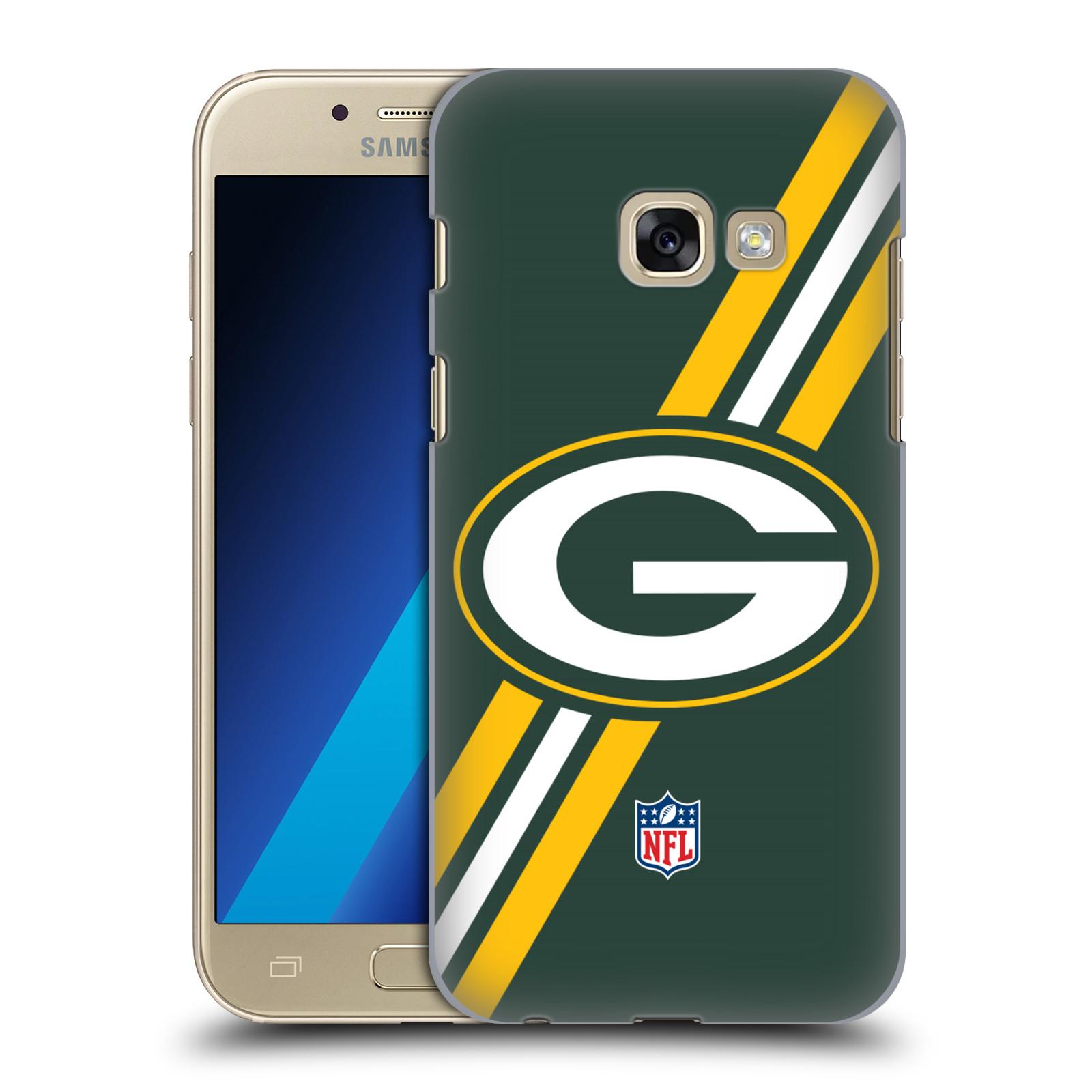 Plastové pouzdro na mobil Samsung Galaxy A3 (2017) HEAD CASE NFL - Green Bay Packers