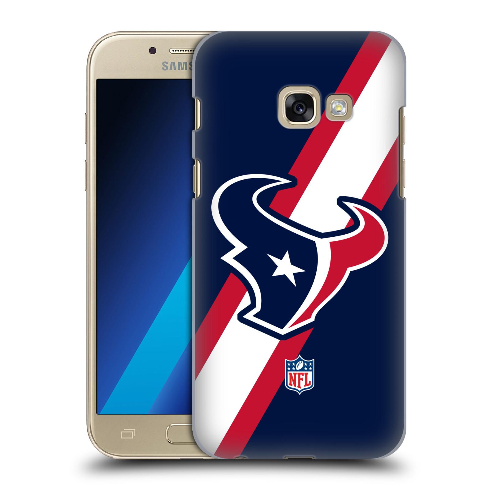 Plastové pouzdro na mobil Samsung Galaxy A3 (2017) HEAD CASE NFL - Houston Texans