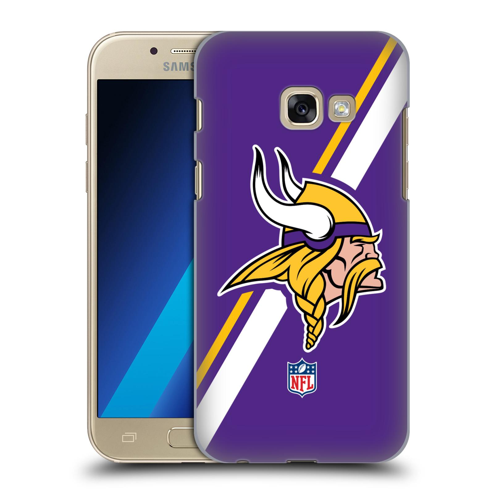 Plastové pouzdro na mobil Samsung Galaxy A3 (2017) HEAD CASE NFL - Minnesota Vikings