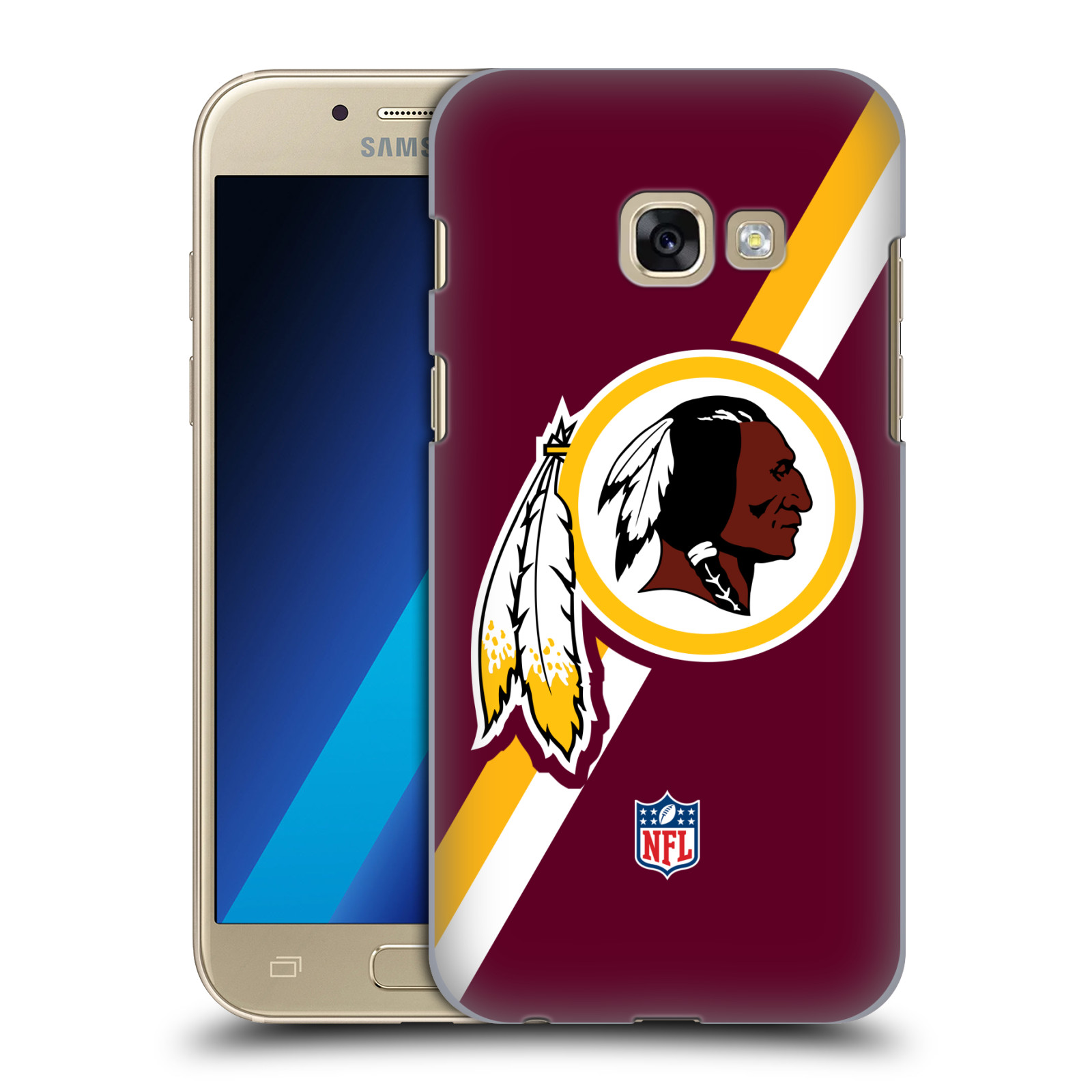Plastové pouzdro na mobil Samsung Galaxy A3 (2017) HEAD CASE NFL - Washington Redskins