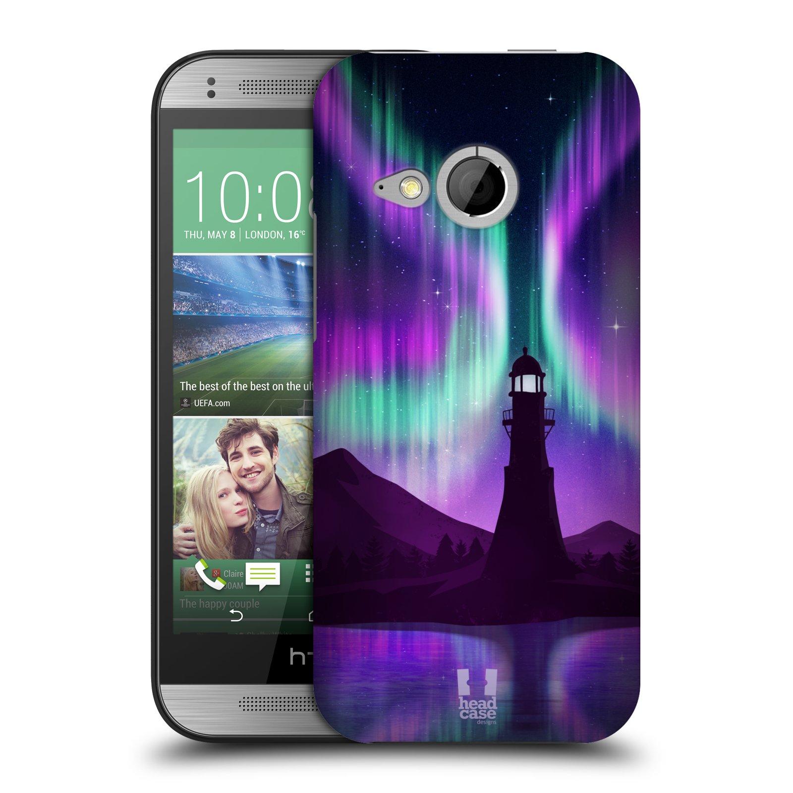Plastové pouzdro na mobil HTC ONE Mini 2 HEAD CASE Polární Záře Maják (Kryt či obal na mobilní telefon HTC ONE Mini 2)