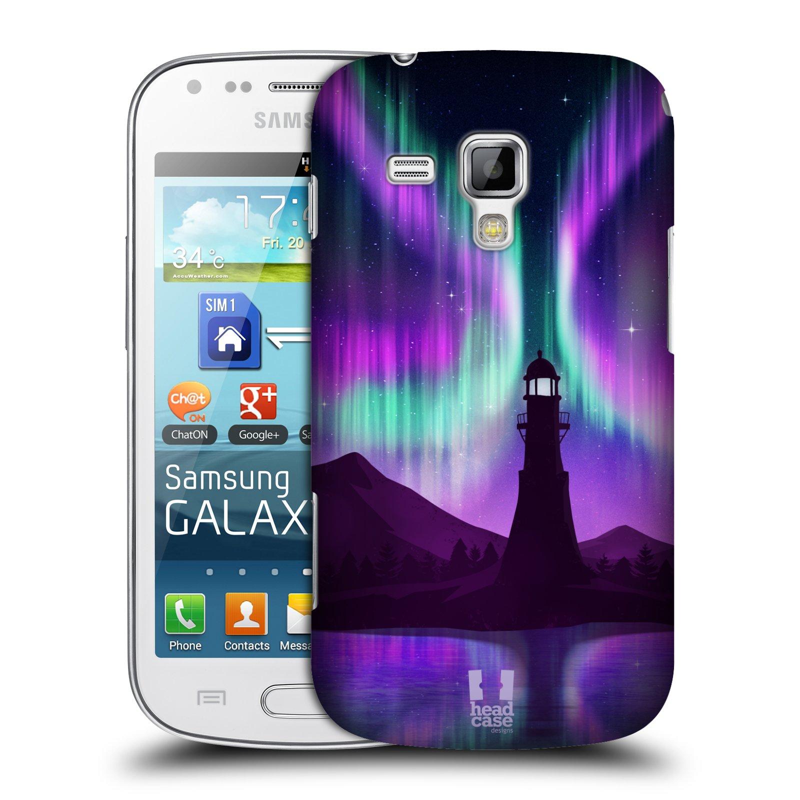 Plastové pouzdro na mobil Samsung Galaxy Trend Plus HEAD CASE Polární Záře Maják (Kryt či obal na mobilní telefon Samsung Galaxy Trend Plus GT-S7580)