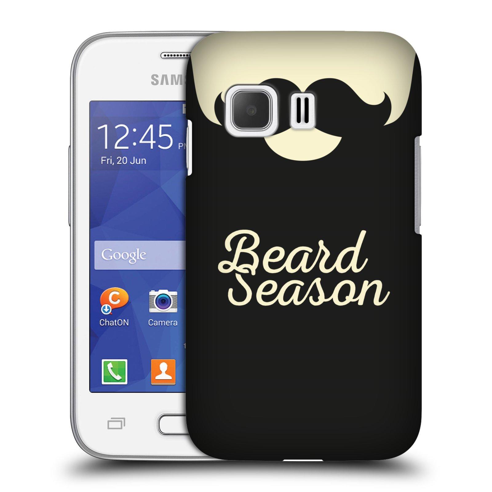 Plastové pouzdro na mobil Samsung Galaxy Young 2 HEAD CASE KNÍR BEARD SEASON (Plastový kryt či obal na mobilní telefon Samsung Galaxy Young 2 SM-G130)