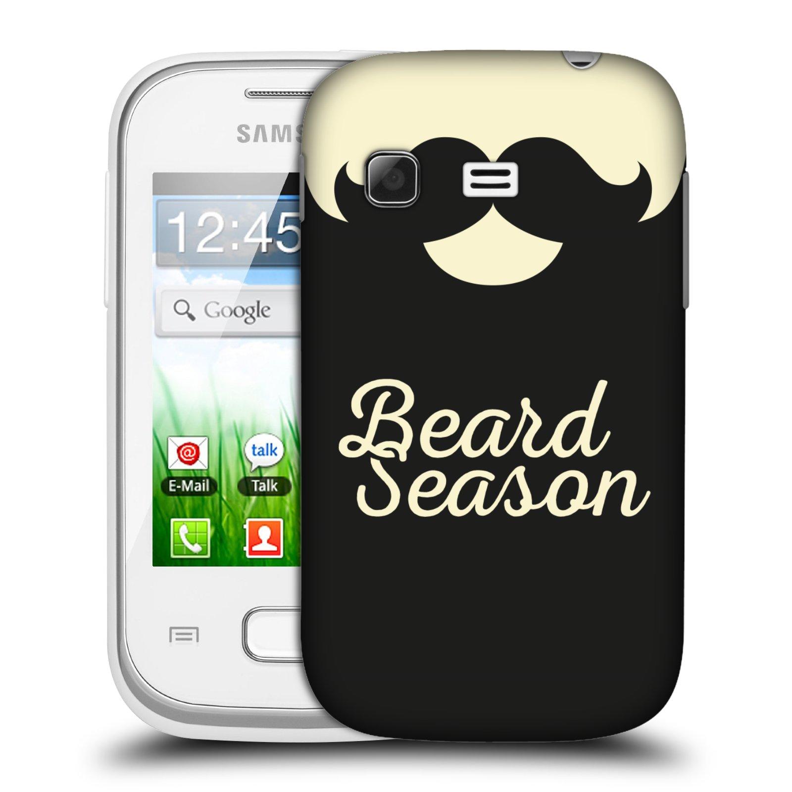 Plastové pouzdro na mobil Samsung Galaxy Pocket HEAD CASE KNÍR BEARD SEASON (Plastový kryt či obal na mobilní telefon Samsung Galaxy Pocket GT-S5300)