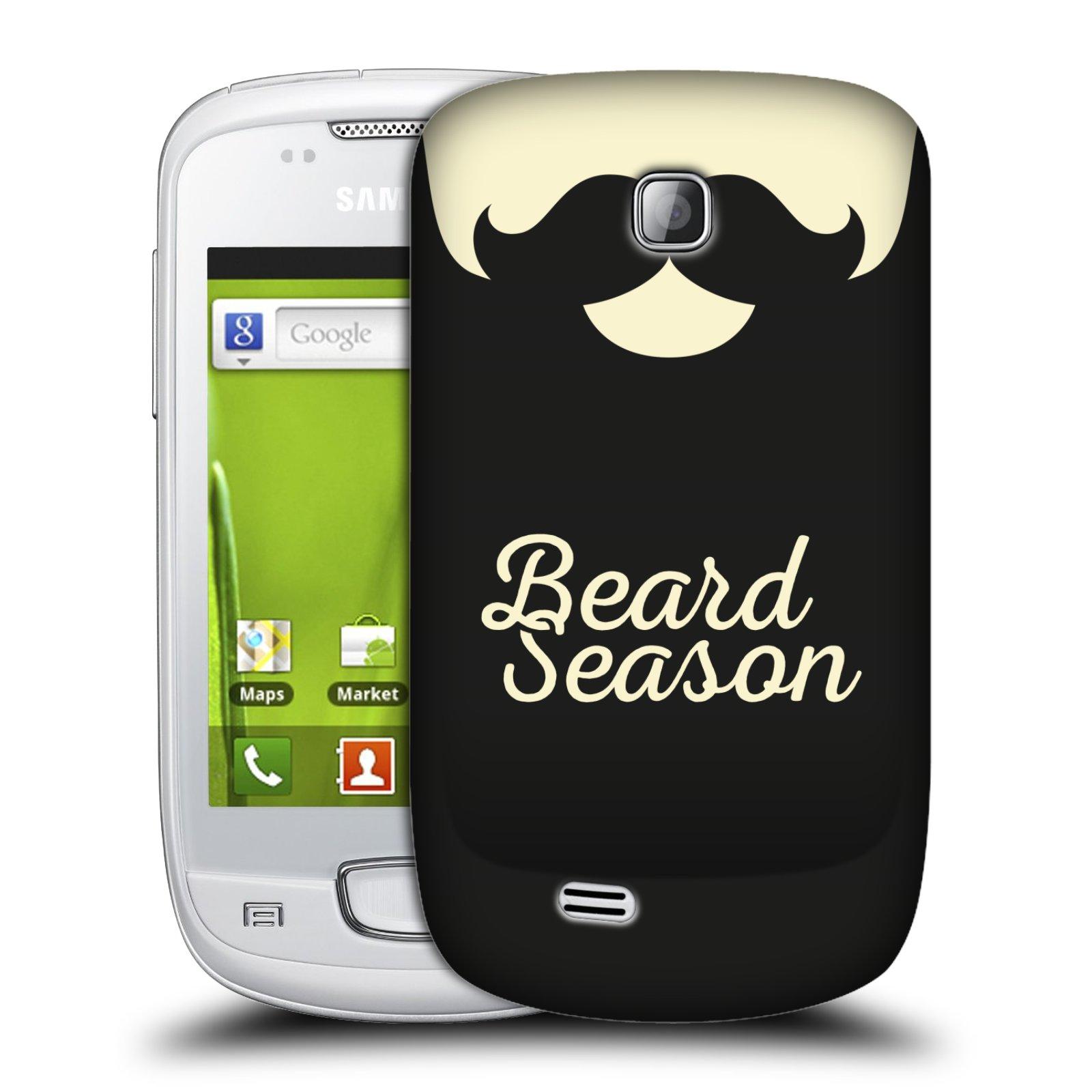 Plastové pouzdro na mobil Samsung Galaxy Mini HEAD CASE KNÍR BEARD SEASON (Plastový kryt či obal na mobilní telefon Samsung Galaxy Mini GT-S5570 / GT-S5570i)