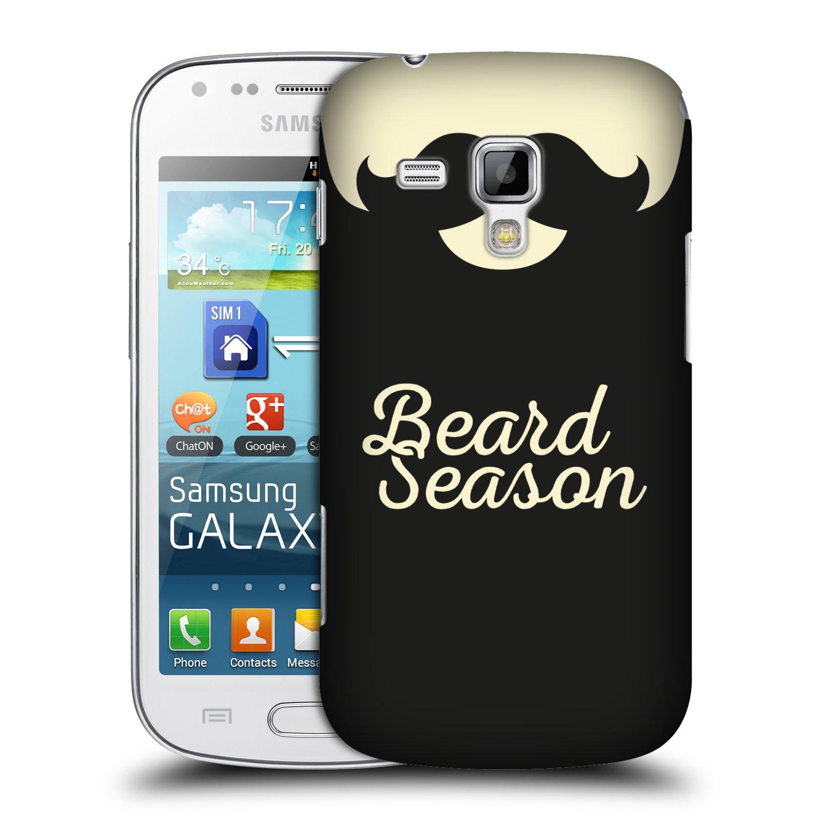 Plastové pouzdro na mobil Samsung Galaxy Trend Plus HEAD CASE KNÍR BEARD SEASON (Plastový kryt či obal na mobilní telefon Samsung Galaxy Trend Plus GT-S7580)