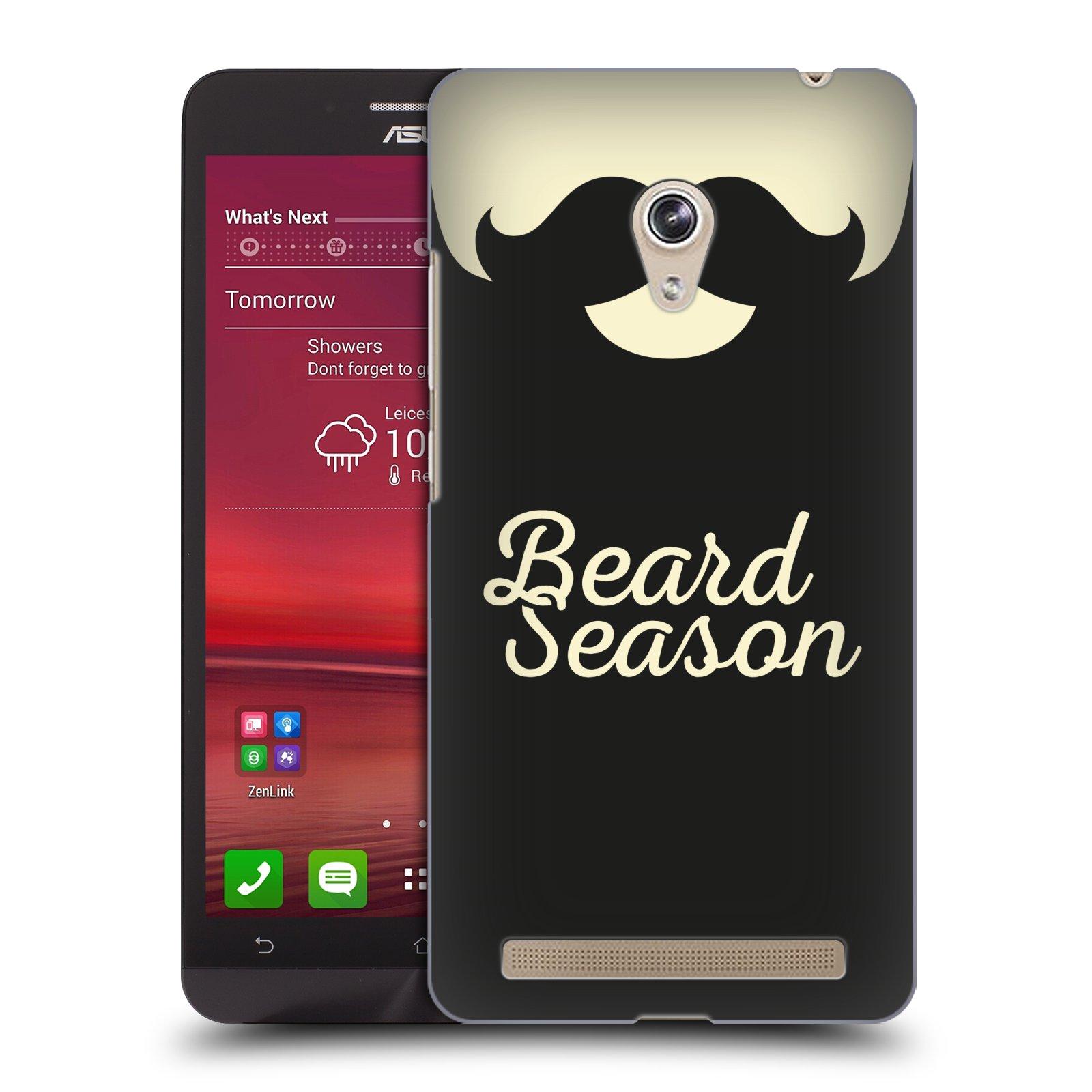 Plastové pouzdro na mobil Asus Zenfone 6 HEAD CASE KNÍR BEARD SEASON (Plastový kryt či obal na mobilní telefon Asus Zenfone 6 A600CG / A601CG)