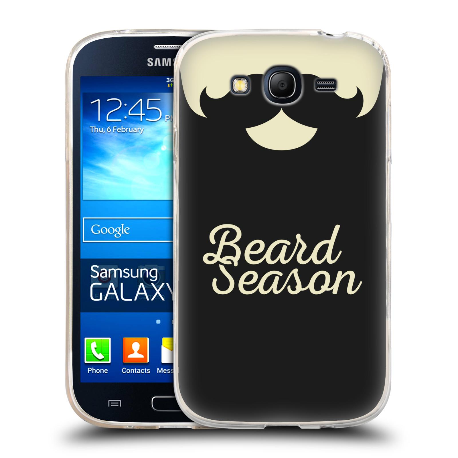 Silikonové pouzdro na mobil Samsung Galaxy Grand Neo HEAD CASE KNÍR BEARD SEASON (Silikonový kryt či obal na mobilní telefon Samsung Galaxy Grand Neo GT-I9060)
